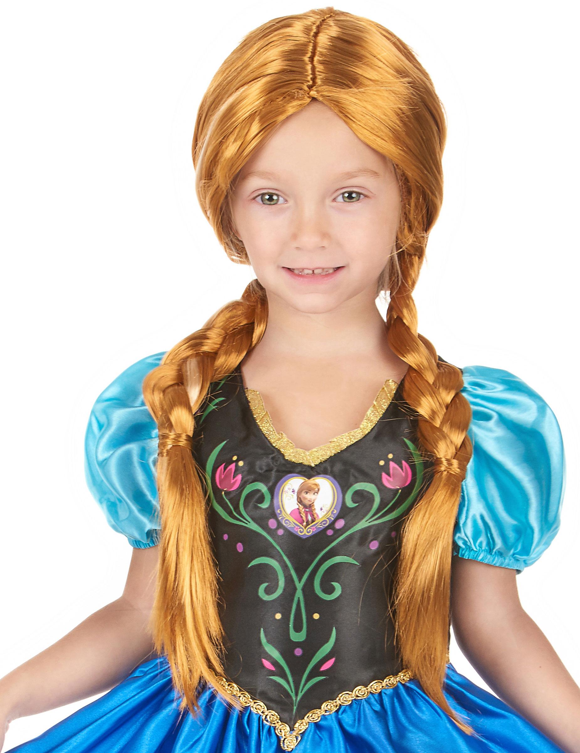 Perruque anna la reine des neiges deguise toi achat de - La reine de neige ...