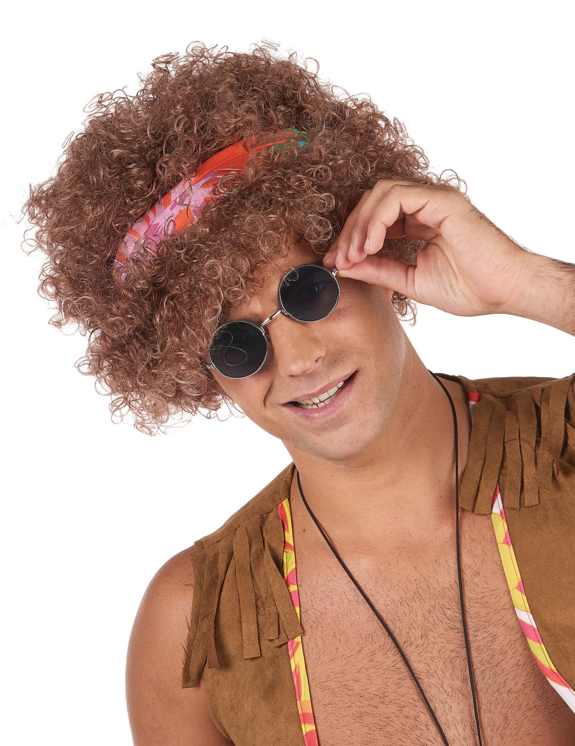 Perruque afro hippie homme - 130g   Deguise-toi df92de8f2c3