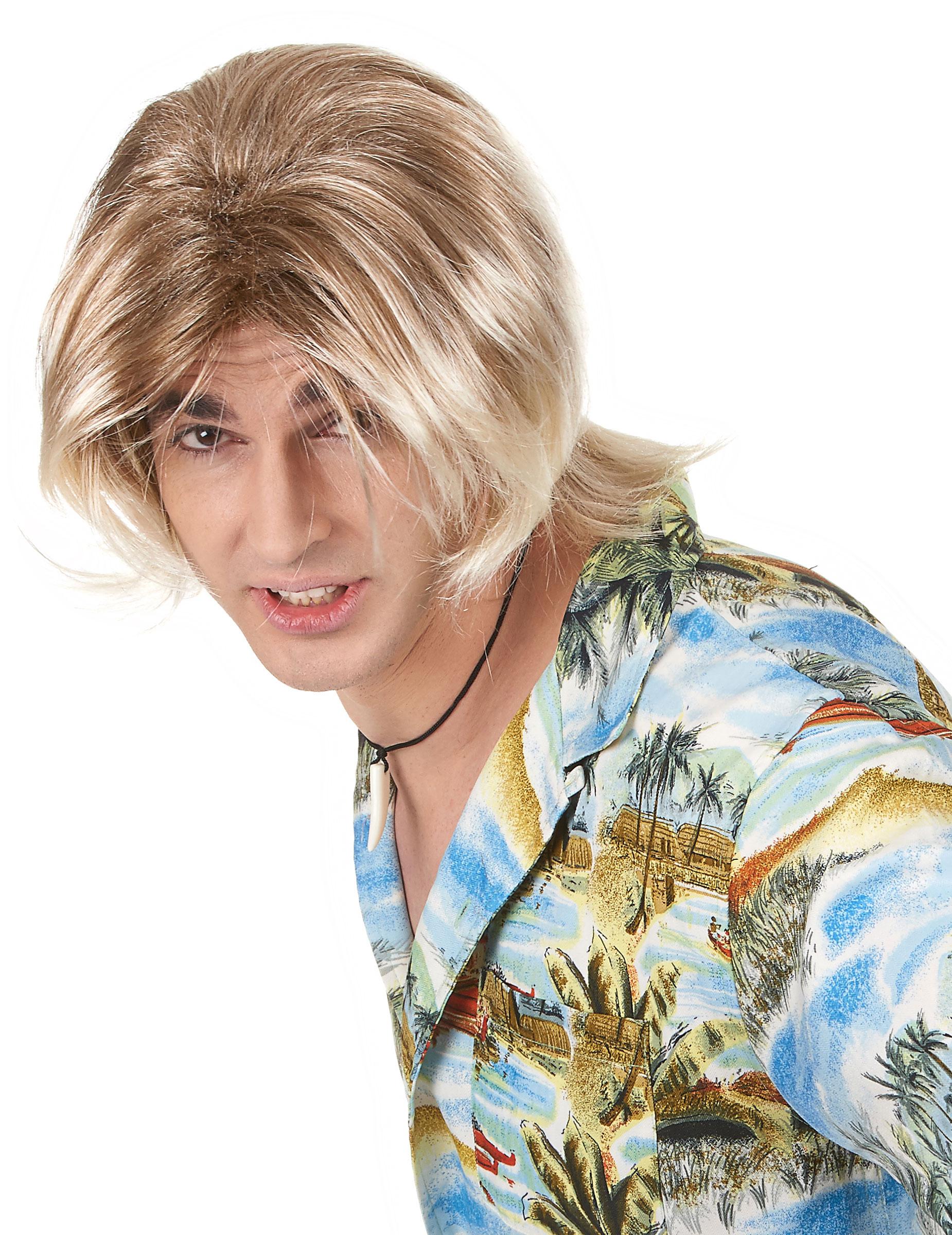Perruques Homme Cheveux lisses 15e8ea9e85a