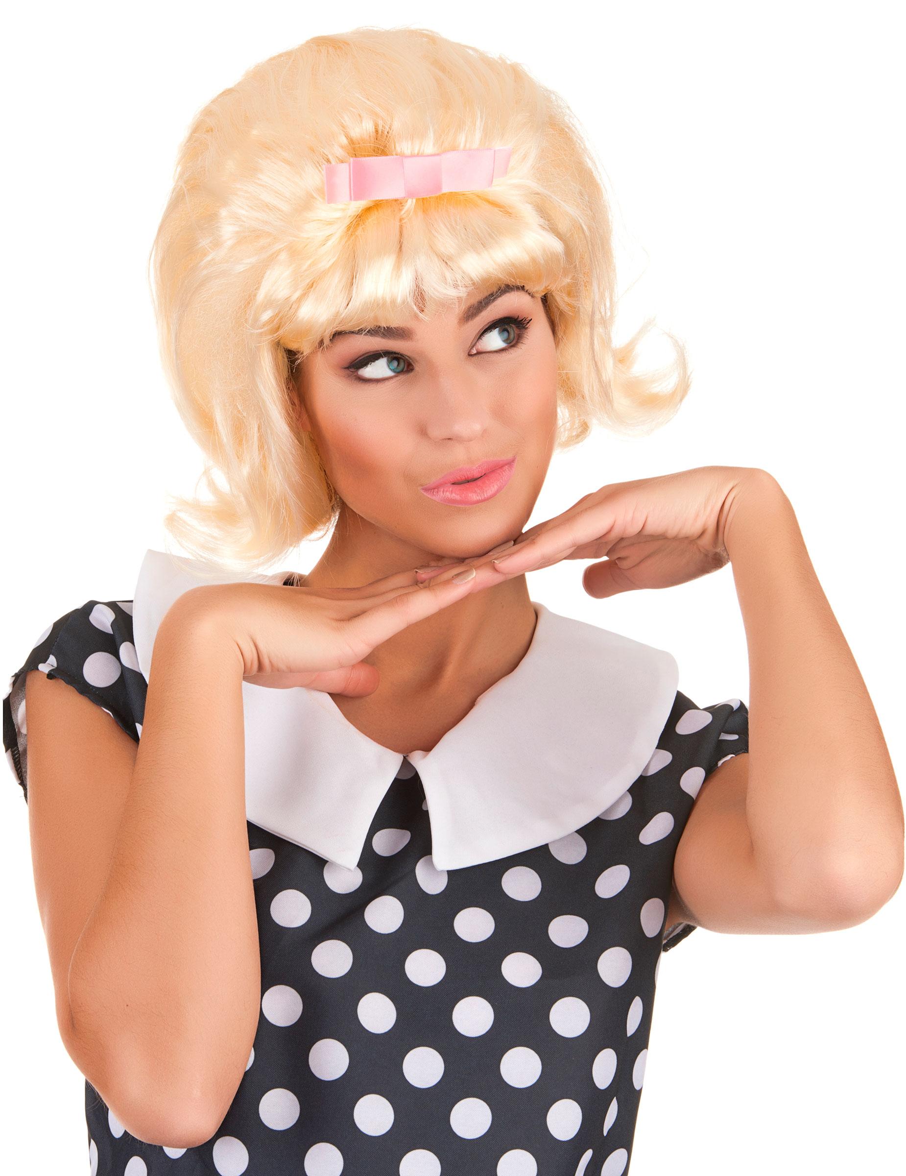 perruque blonde starlette ann es 50 femme deguise toi. Black Bedroom Furniture Sets. Home Design Ideas