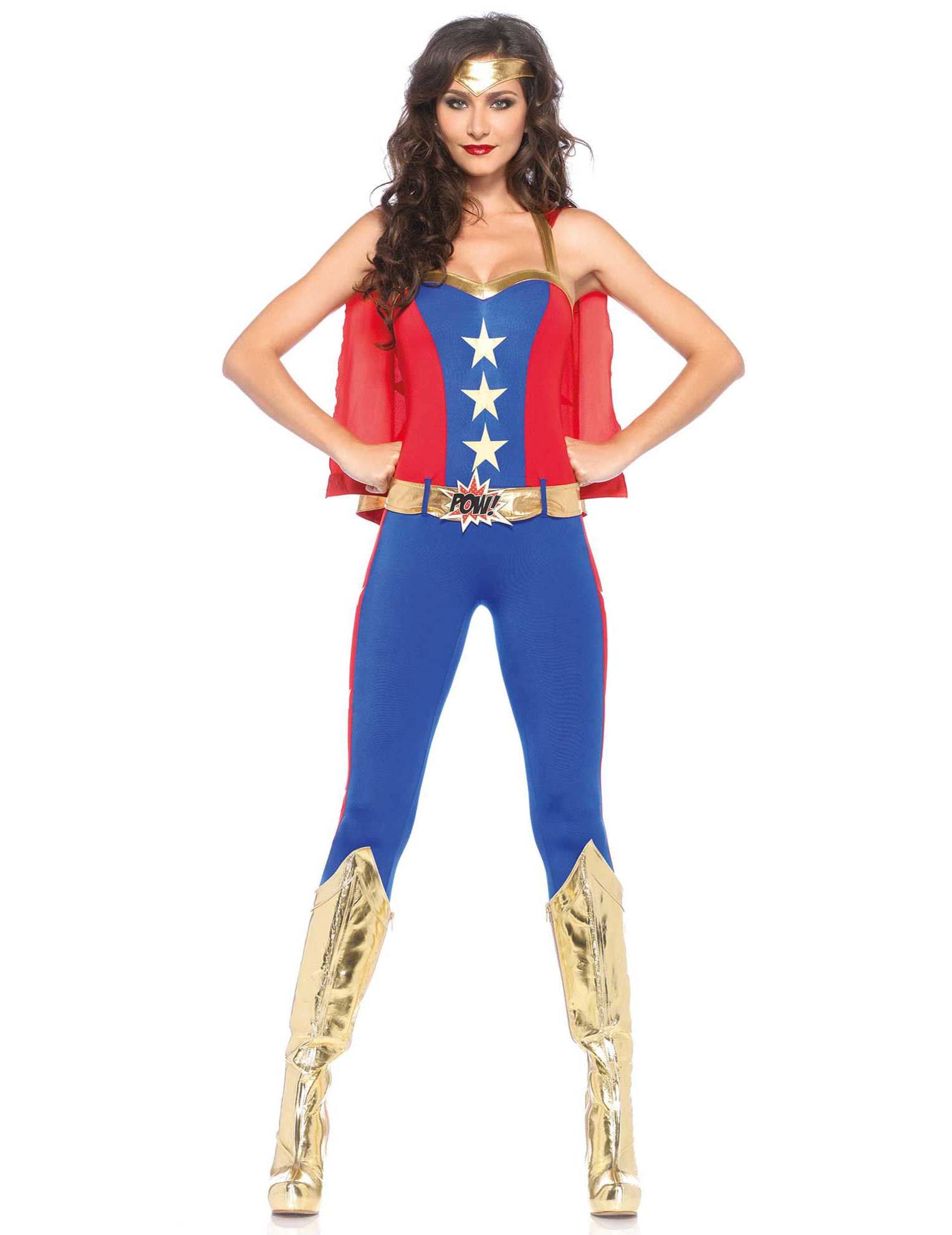 deguisement adulte femme super heros