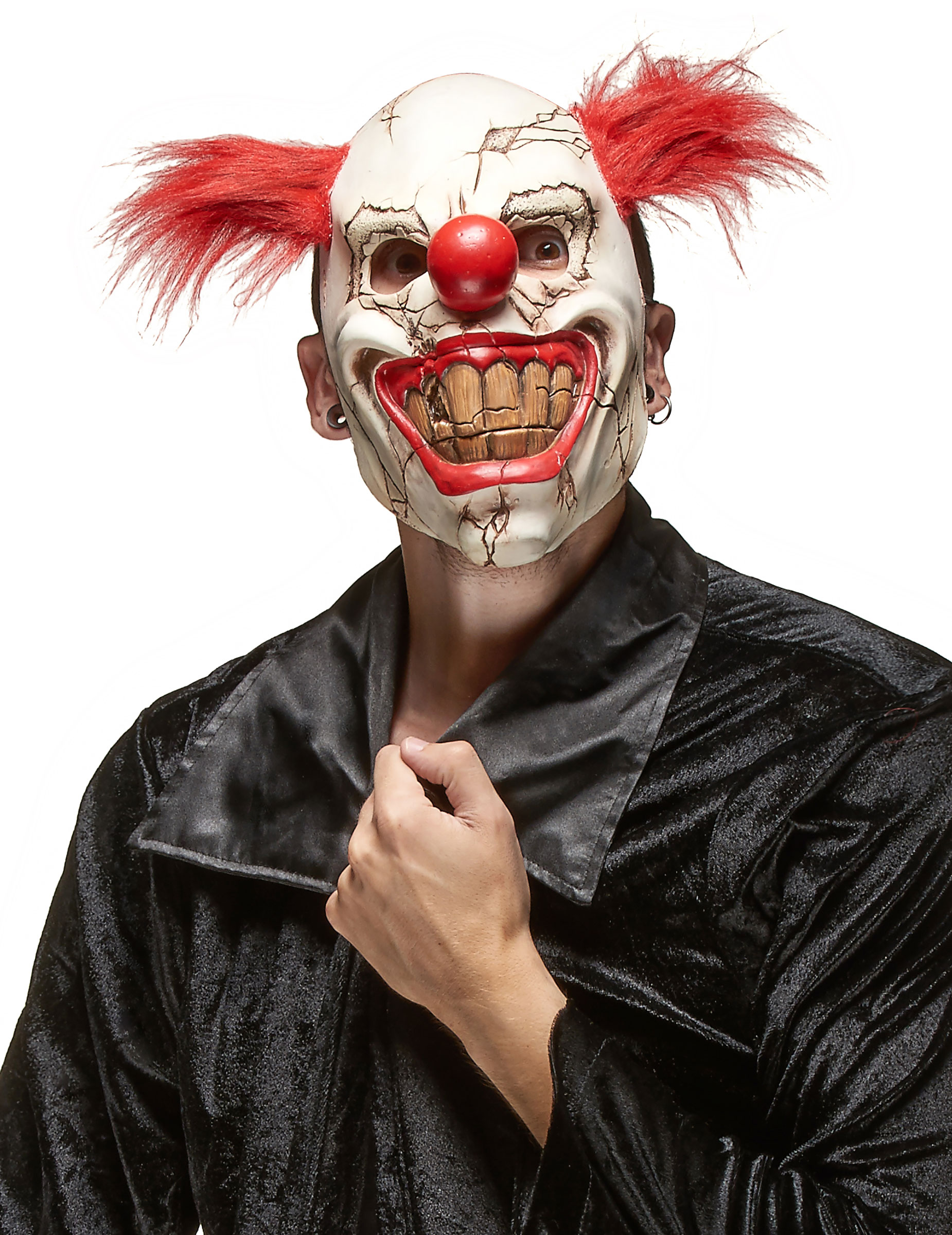 Masque clown m chant adulte halloween deguise toi achat - Halloween adulte ...