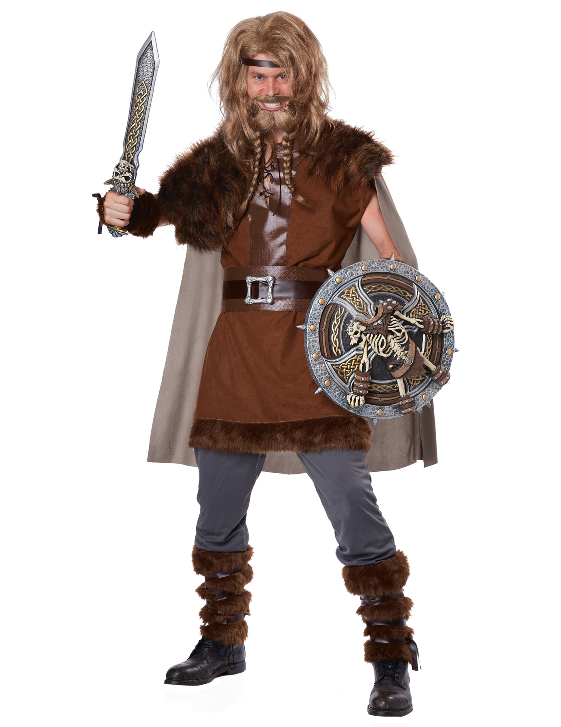 d guisement viking puissant pour homme deguise toi achat de d guisements adultes. Black Bedroom Furniture Sets. Home Design Ideas