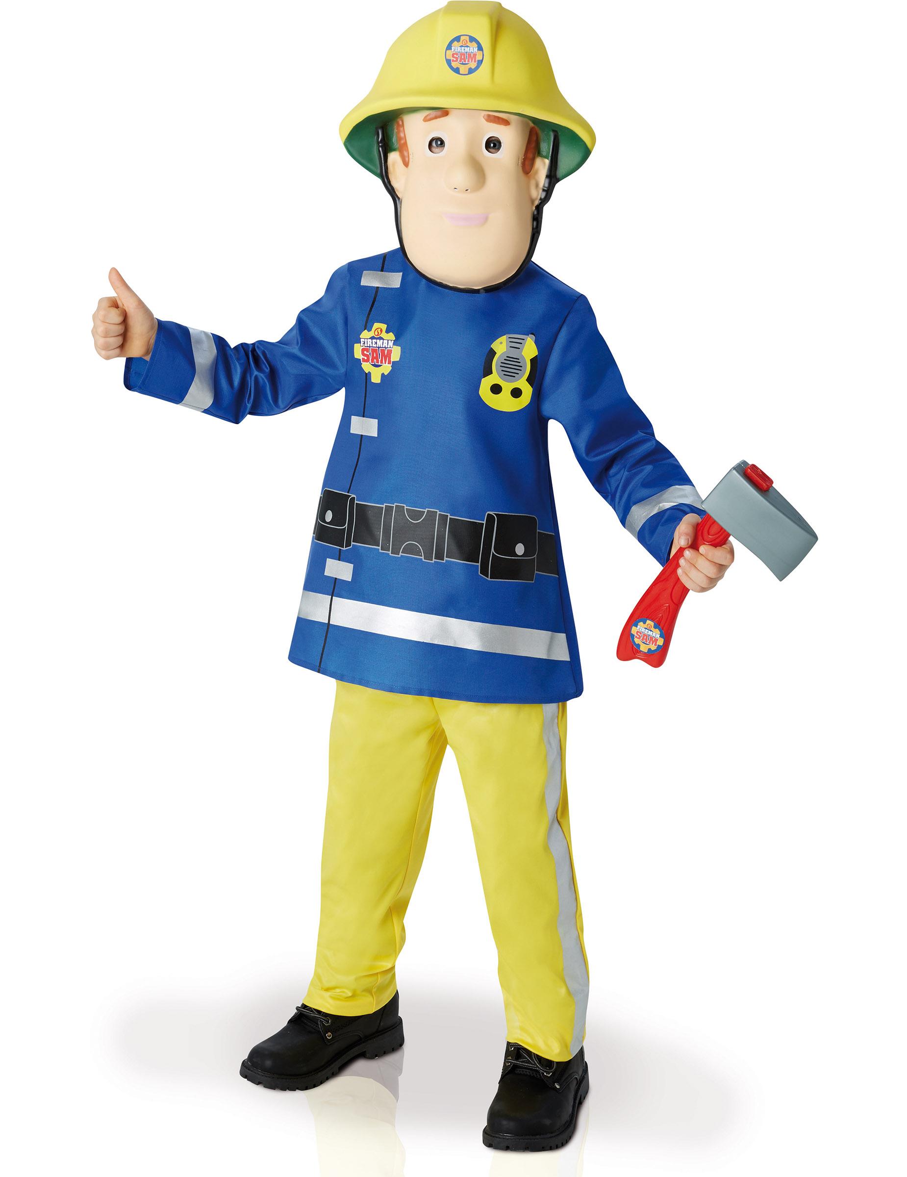 D guisement luxe sam le pompier gar on deguise toi - Sam le pompier noel ...
