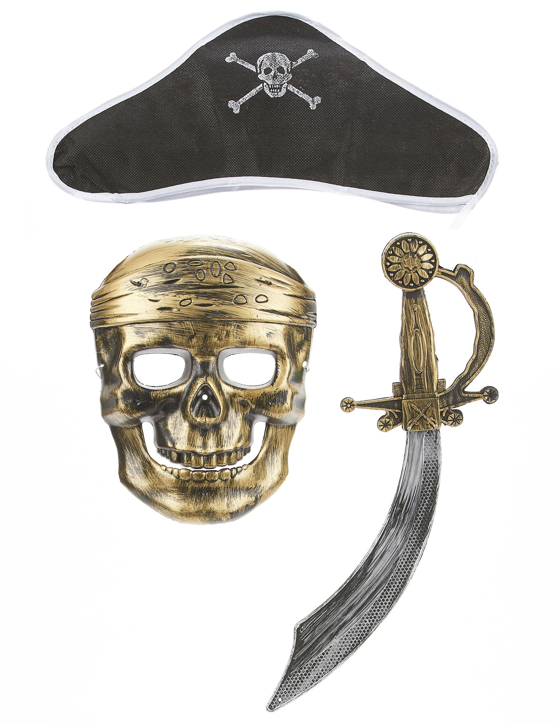 72702bbcf79 Kit de pirate en plastique - Sabre
