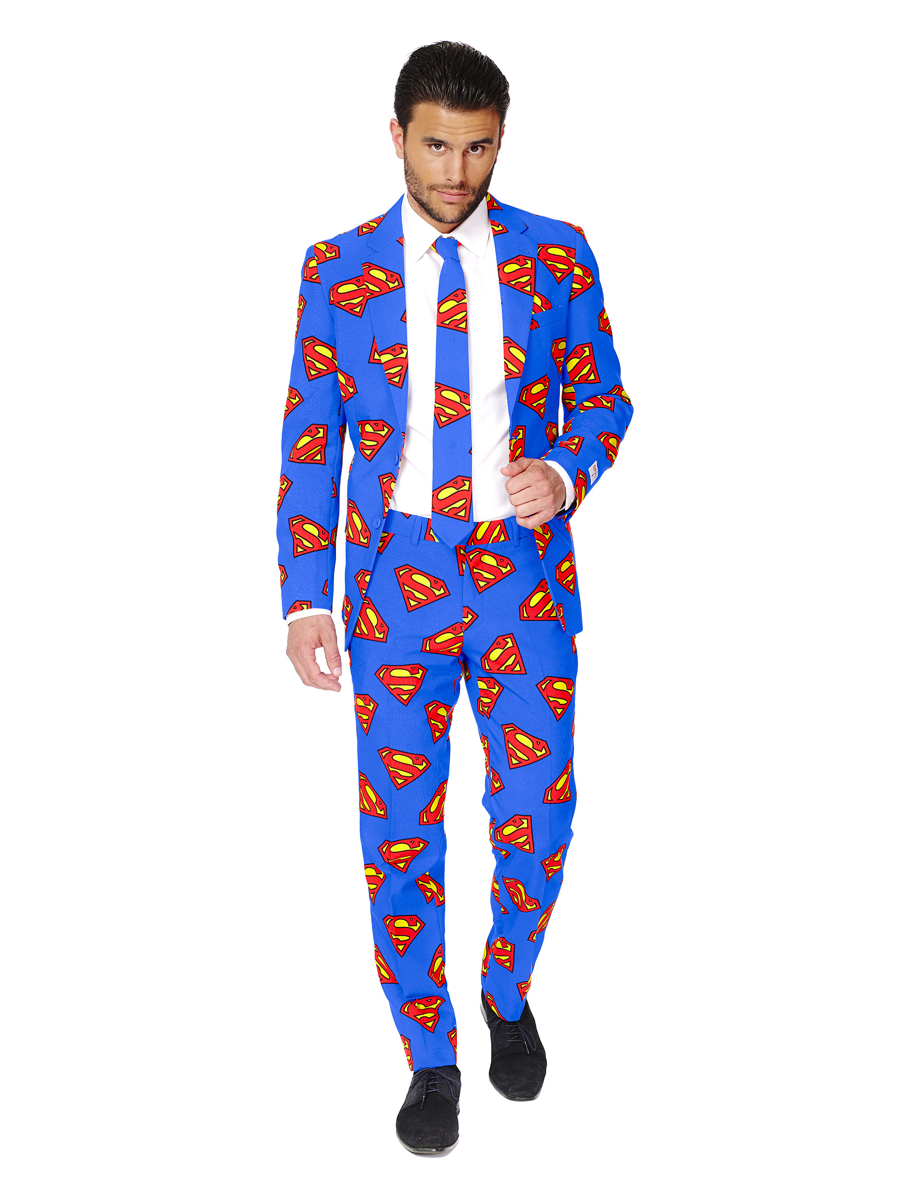 costume mr superman homme opposuits deguise toi achat de d guisements adultes. Black Bedroom Furniture Sets. Home Design Ideas
