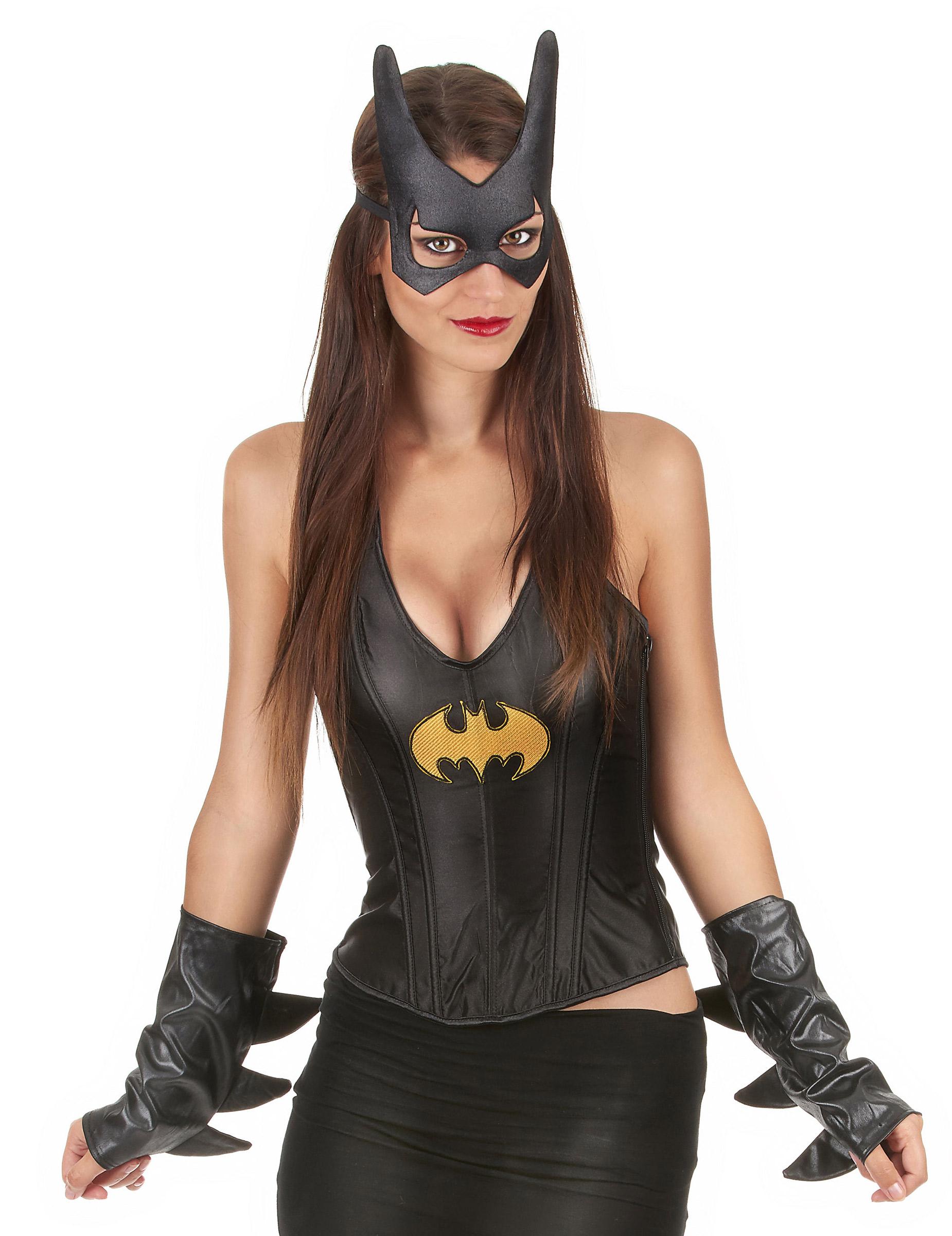Kit accessoires batgirl deguise toi achat de accessoires for Six accessoires