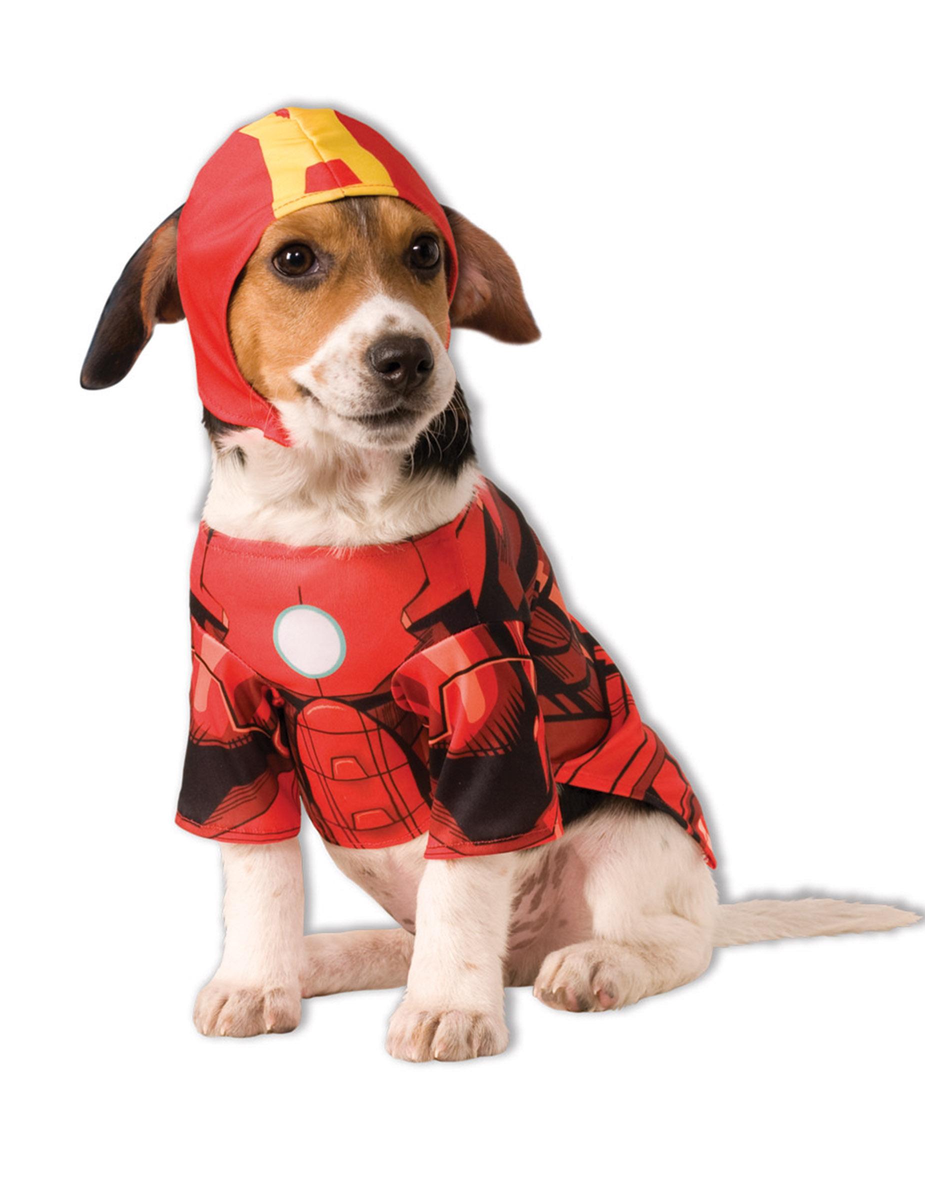 D guisement pour chien iron man deguise toi achat de accessoires - Deguisement halloween chien ...