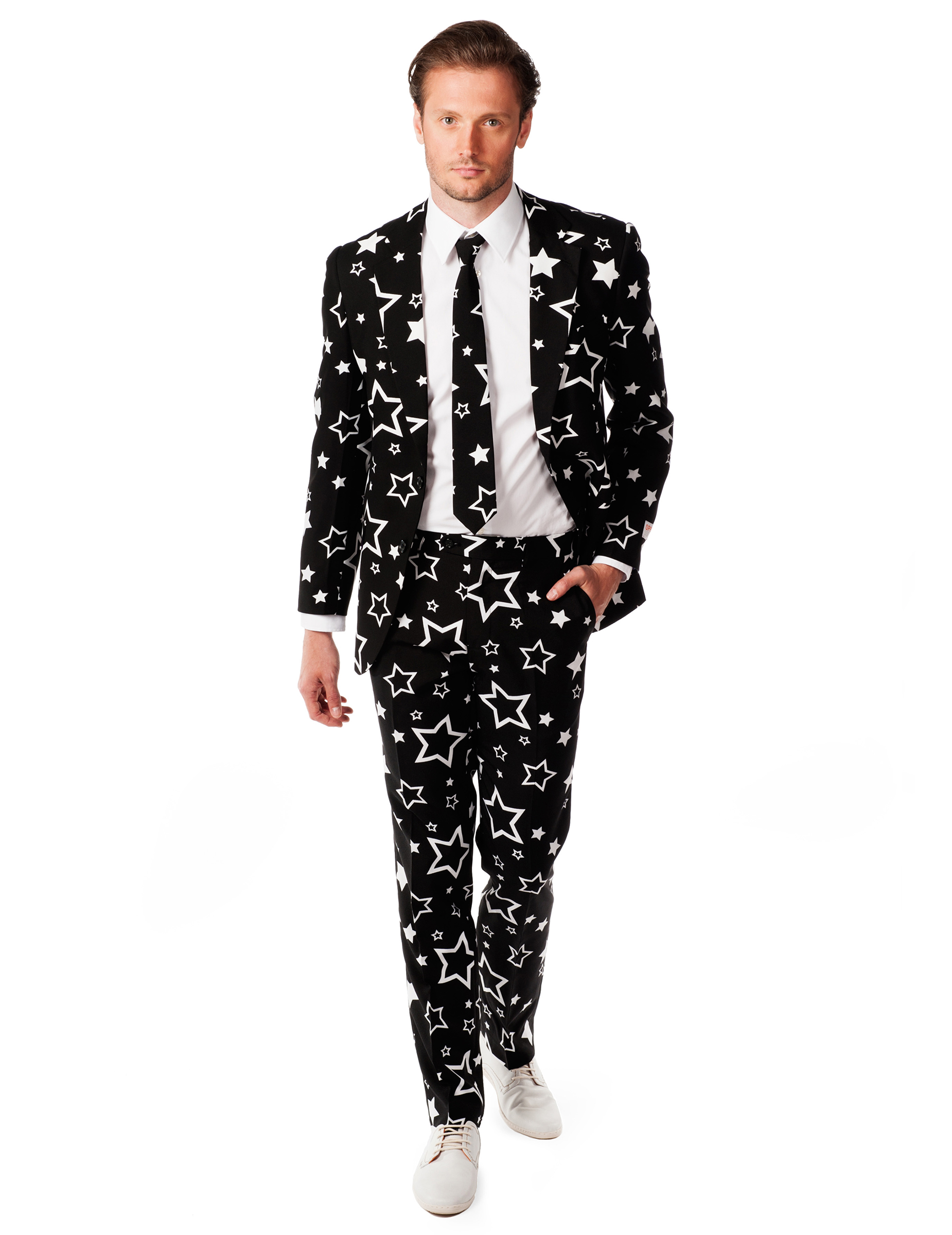 costume mr nuit toil e homme opposuits deguise toi achat de d guisements adultes. Black Bedroom Furniture Sets. Home Design Ideas