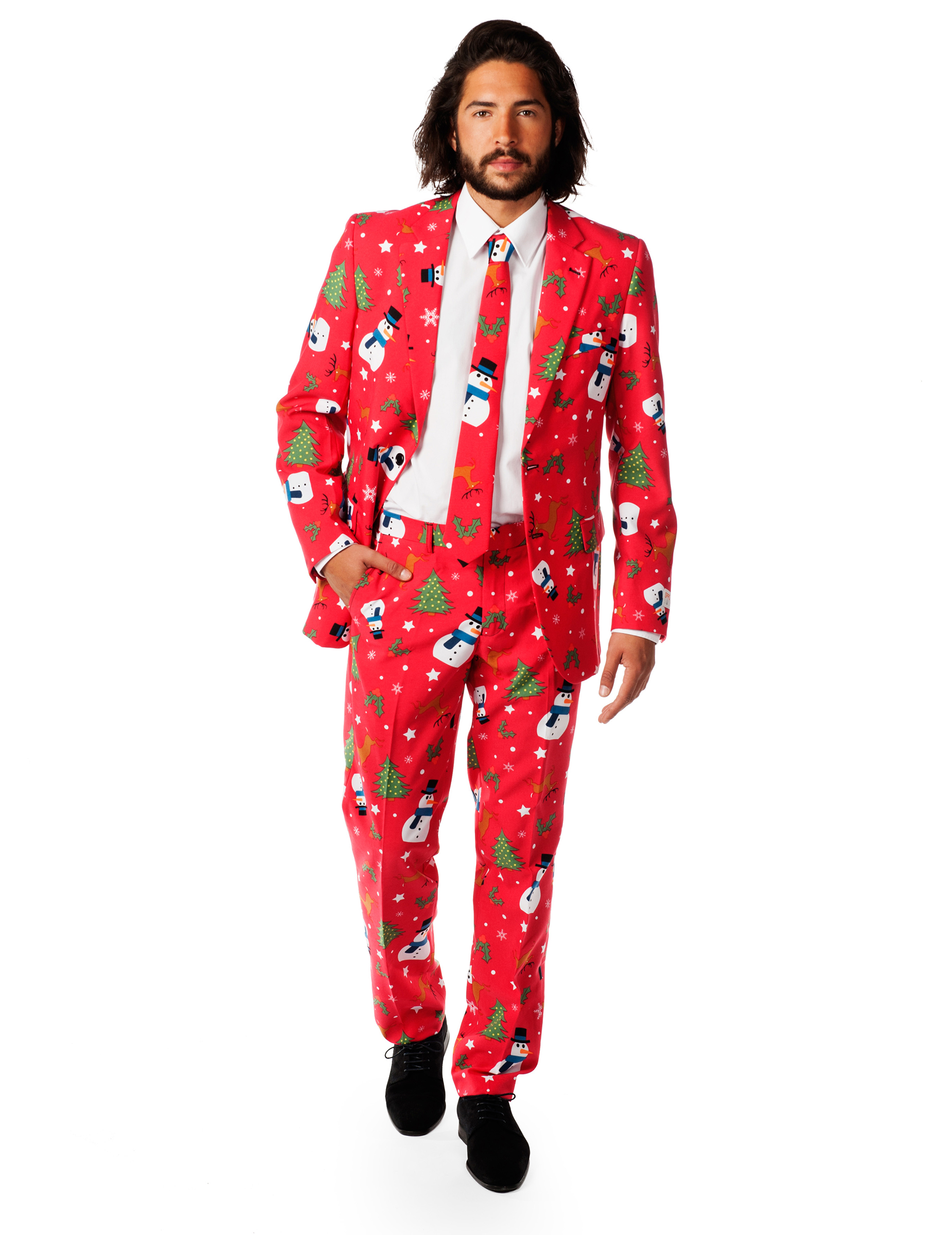 deguisement noel homme Costume Mr. Snowman homme Opposuits™ : Deguise toi, achat de  deguisement noel homme
