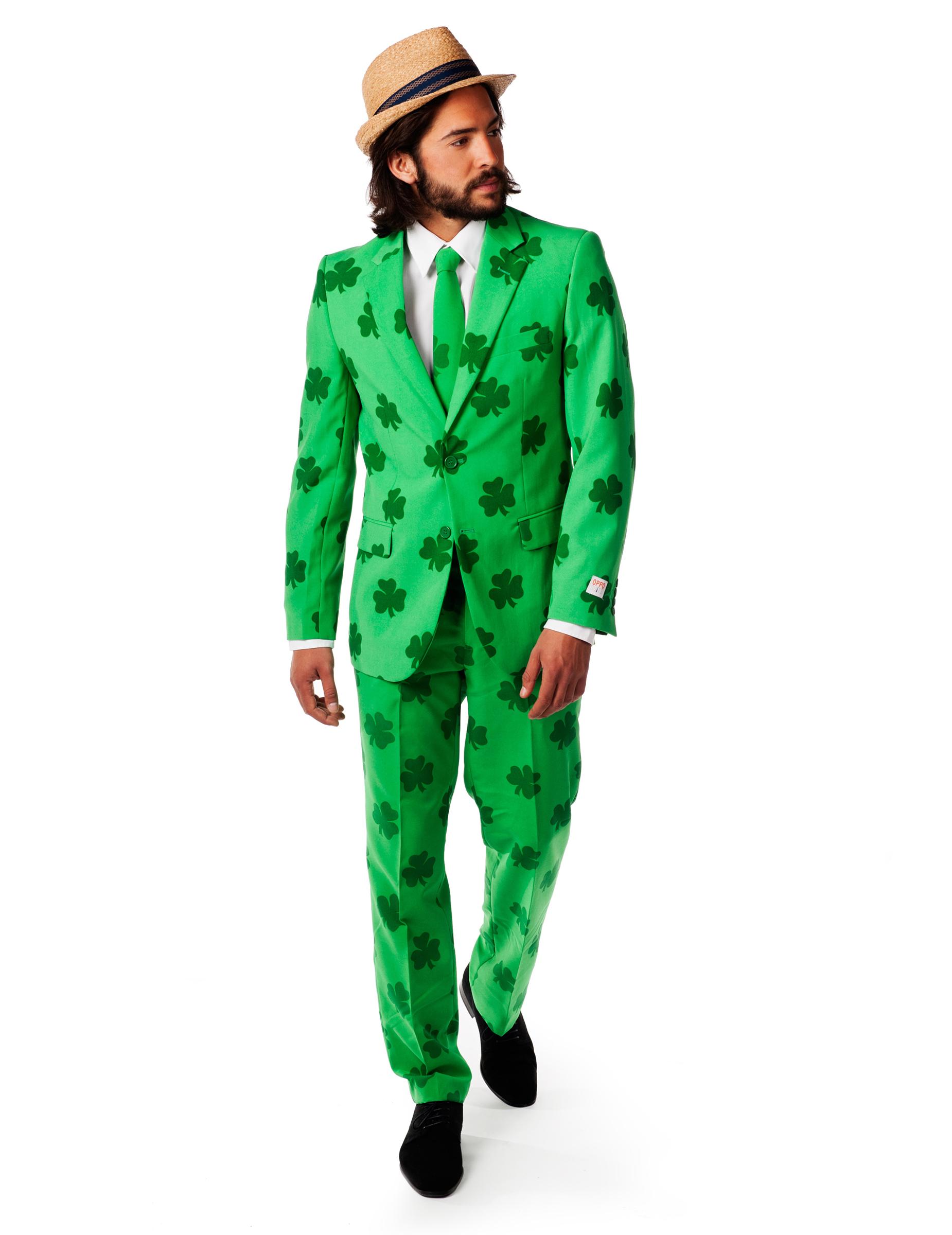 Homme Costume Opposuits™ St MrLucky Patrick 0wm8nNvO