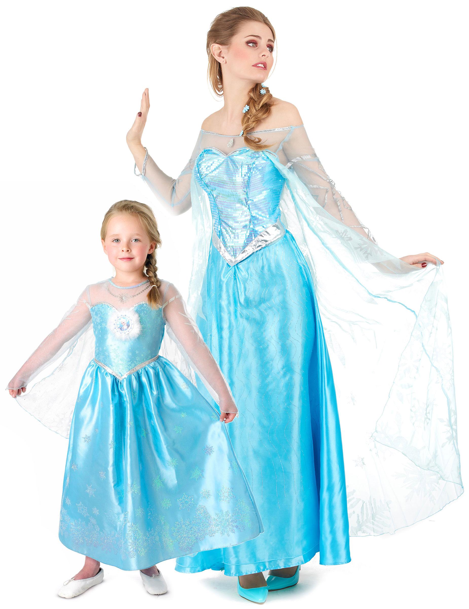 a556ff48e80297 Déguisement de couple Elsa de la Reine des Neiges™ mère fille ...
