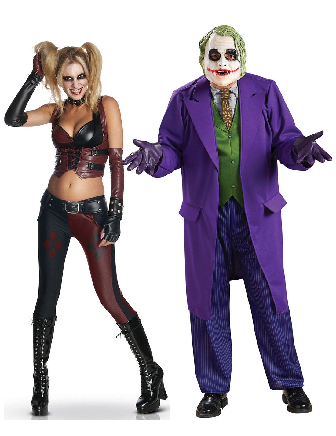 Déguisement De Couple Harley Quinn Et Joker Deguise Toi Achat