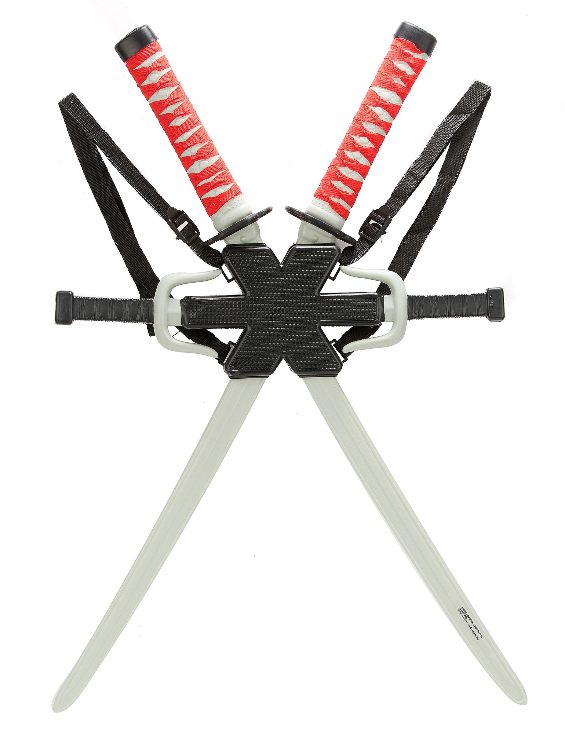 kit accessoires deadpool deguise toi achat de accessoires. Black Bedroom Furniture Sets. Home Design Ideas