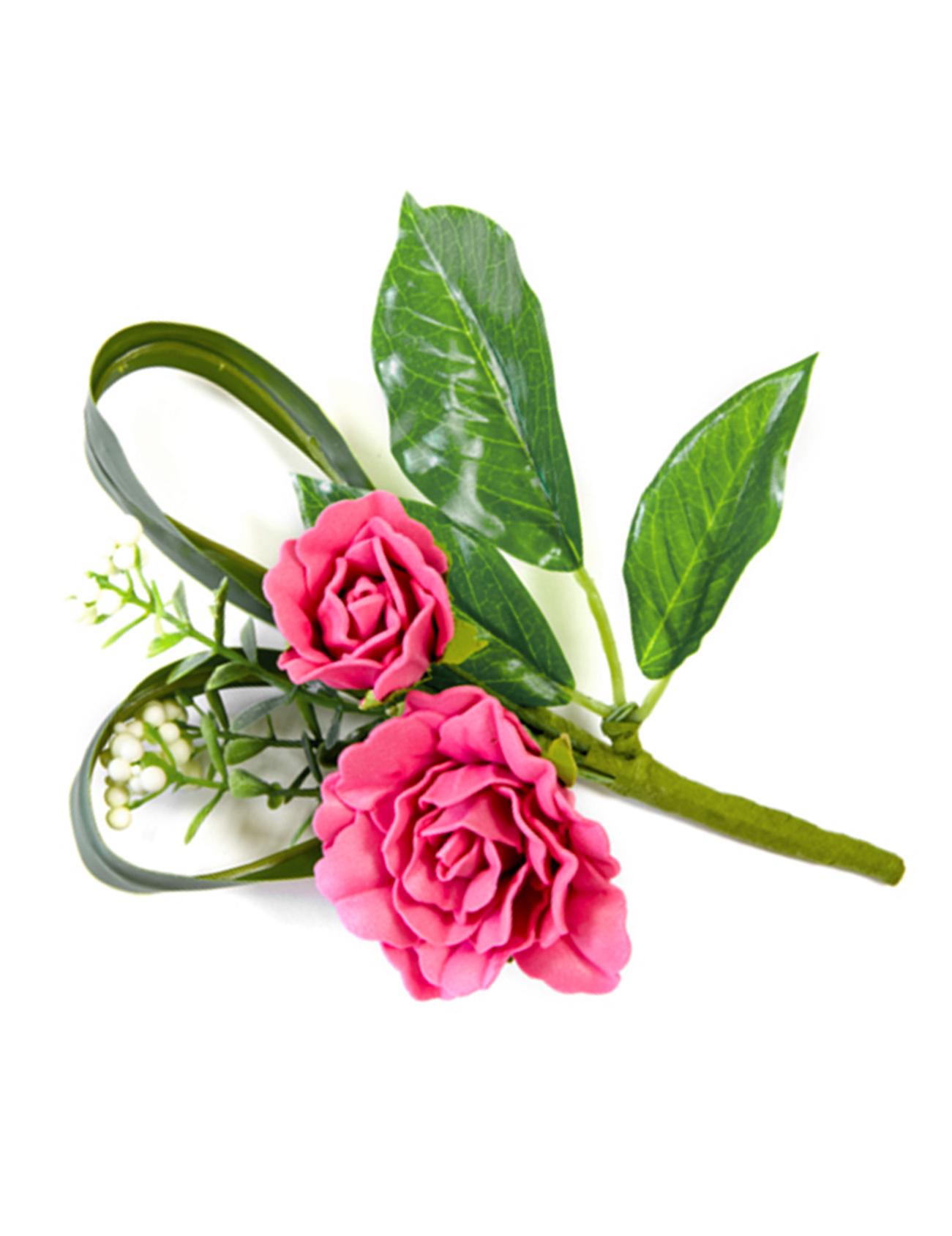 Deco de table fleurs artificielles roses fuschia deguise toi achat de decoration animation - Deco table fleur ...