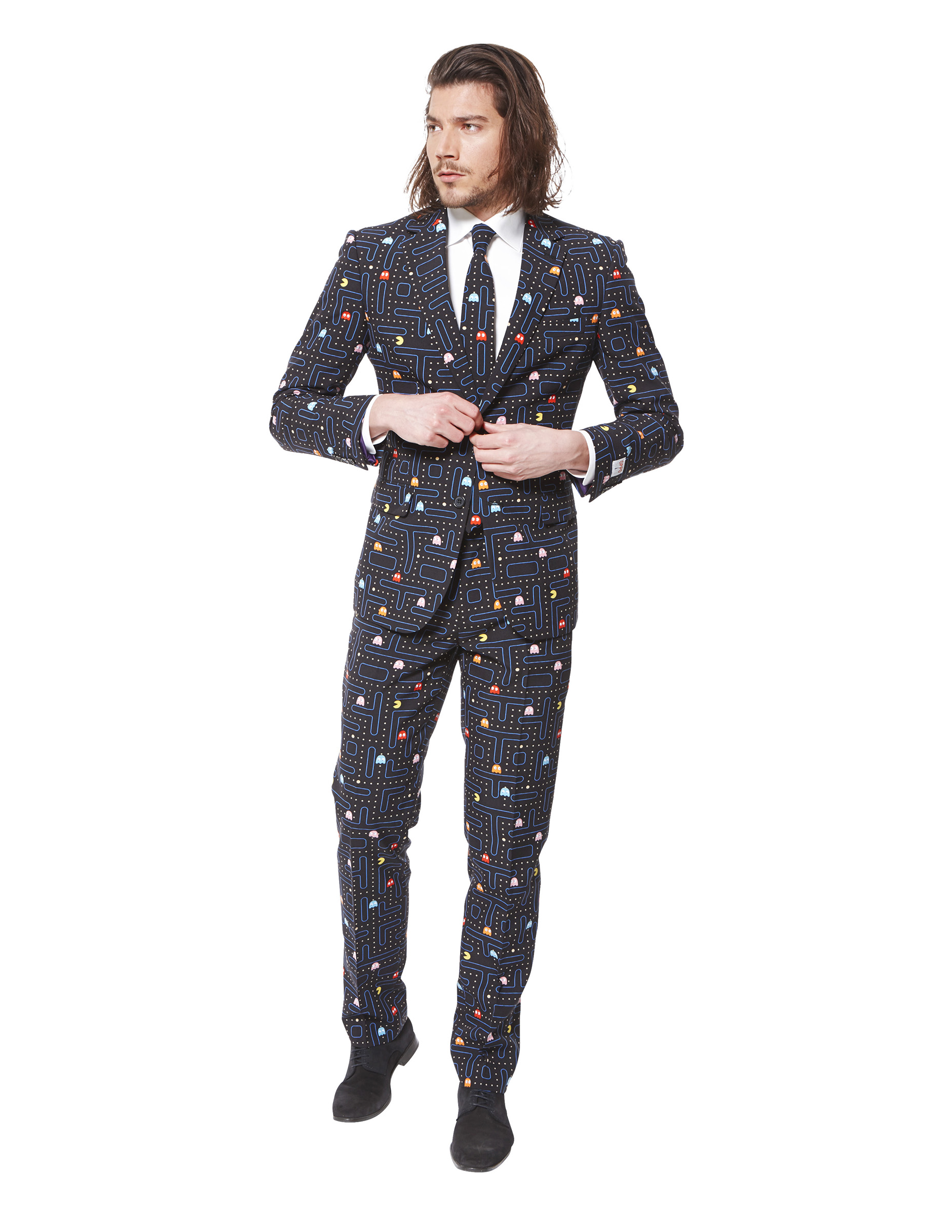 costume mr pac man homme opposuits deguise toi achat de d guisements adultes. Black Bedroom Furniture Sets. Home Design Ideas