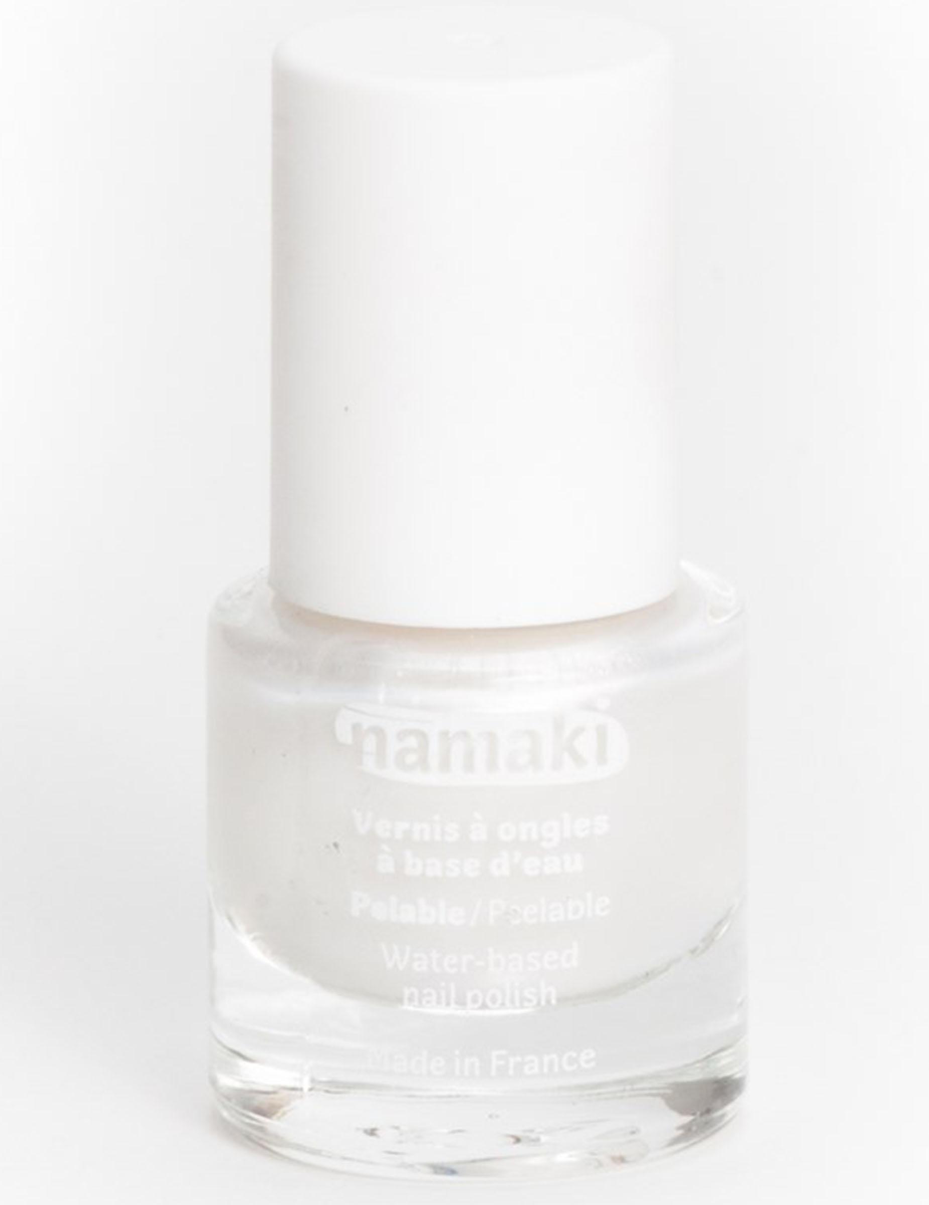 Vernis Nacré Namaki 7 Ml Ongles 5 À Base Eau Pelable Blanc Cosmetics FuK1JclT3