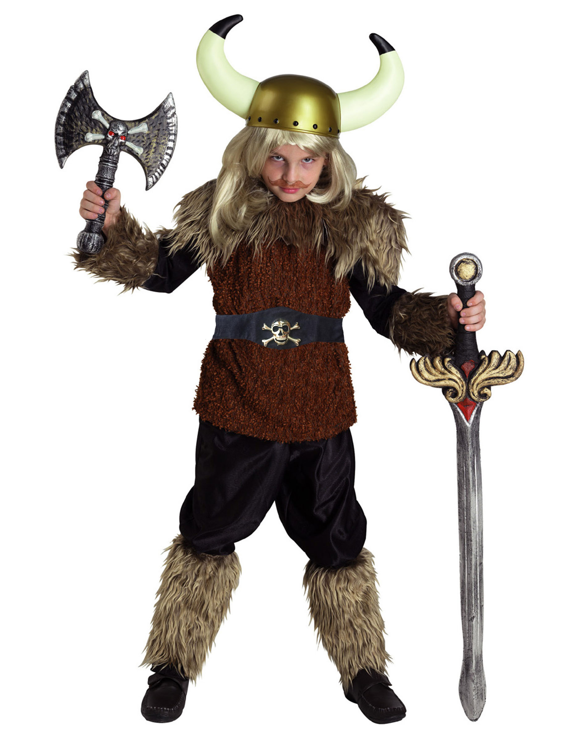 d guisement guerrier viking gar on deguise toi achat de d guisements enfants. Black Bedroom Furniture Sets. Home Design Ideas