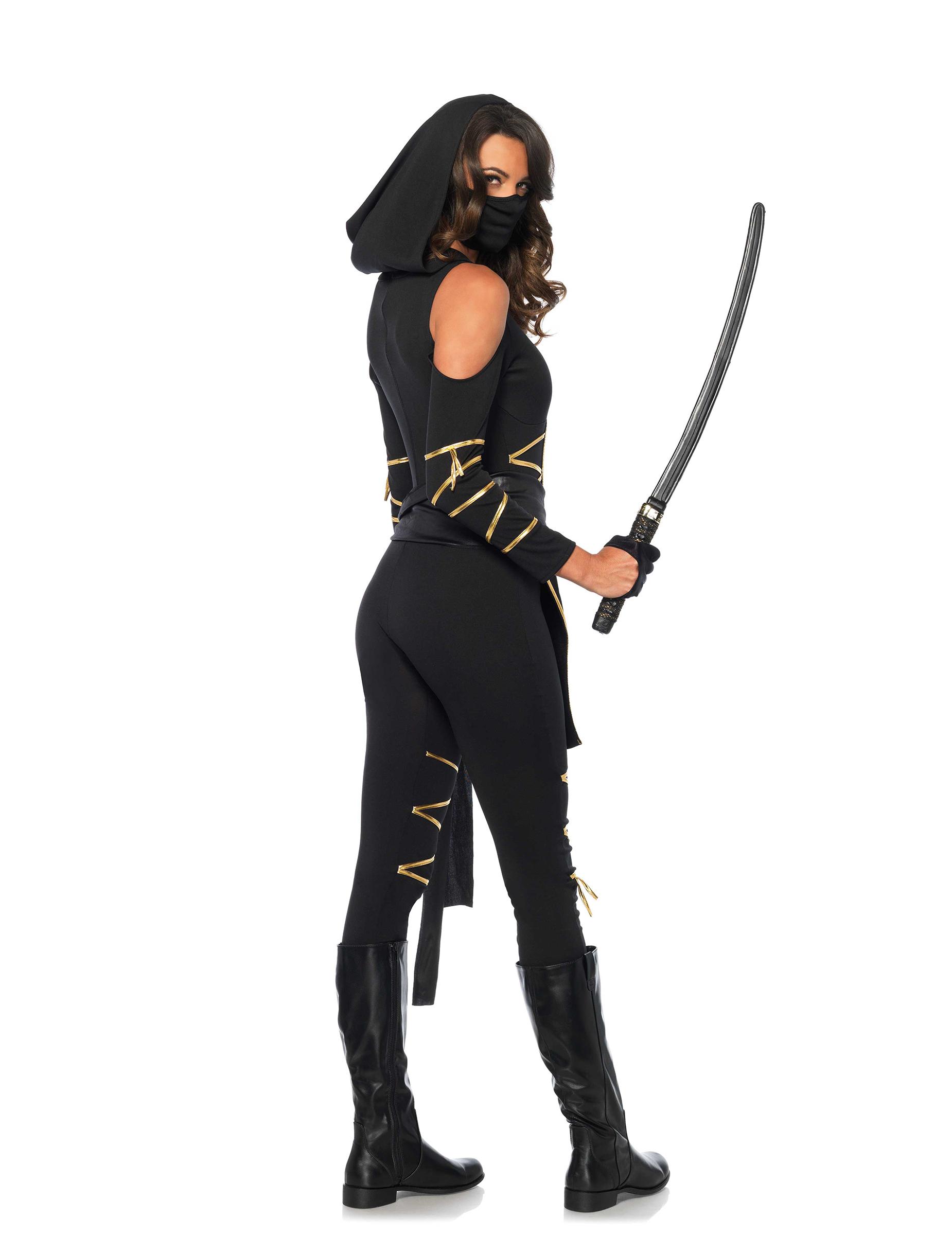 1adc31c1b8fb3 Déguisement ninja dragon d or femme   Deguise-toi