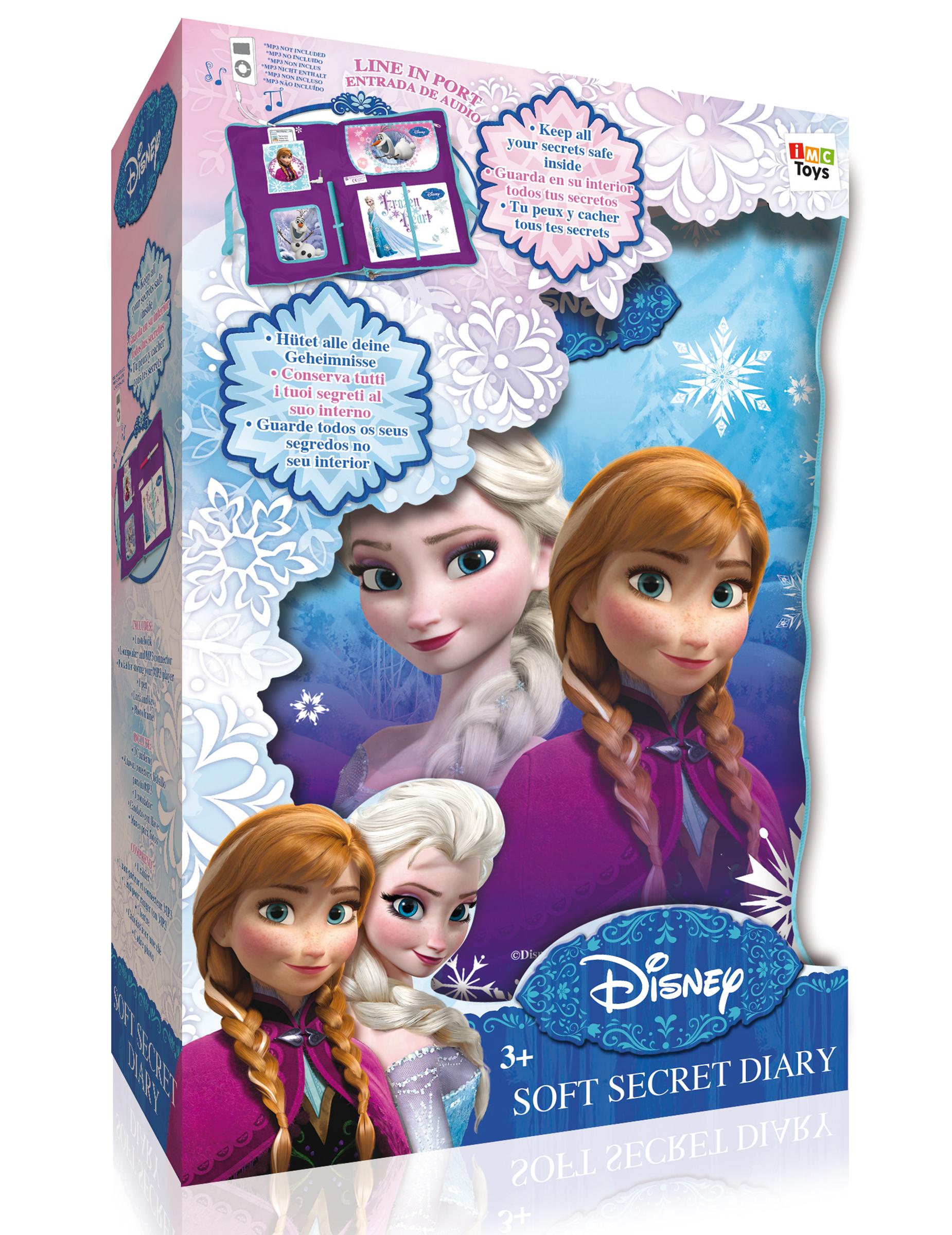 Coussin secret elsa la reine des neiges deguise toi - La reine des neige elsa ...