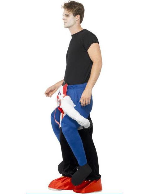 d guisement homme sur dos clown sinistre adulte halloween deguise toi achat de d guisements. Black Bedroom Furniture Sets. Home Design Ideas