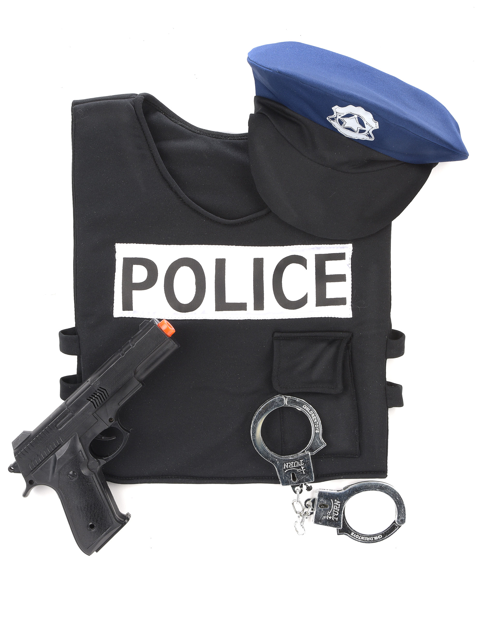 Kit policier gar on deguise toi achat de d guisements for Six accessoires
