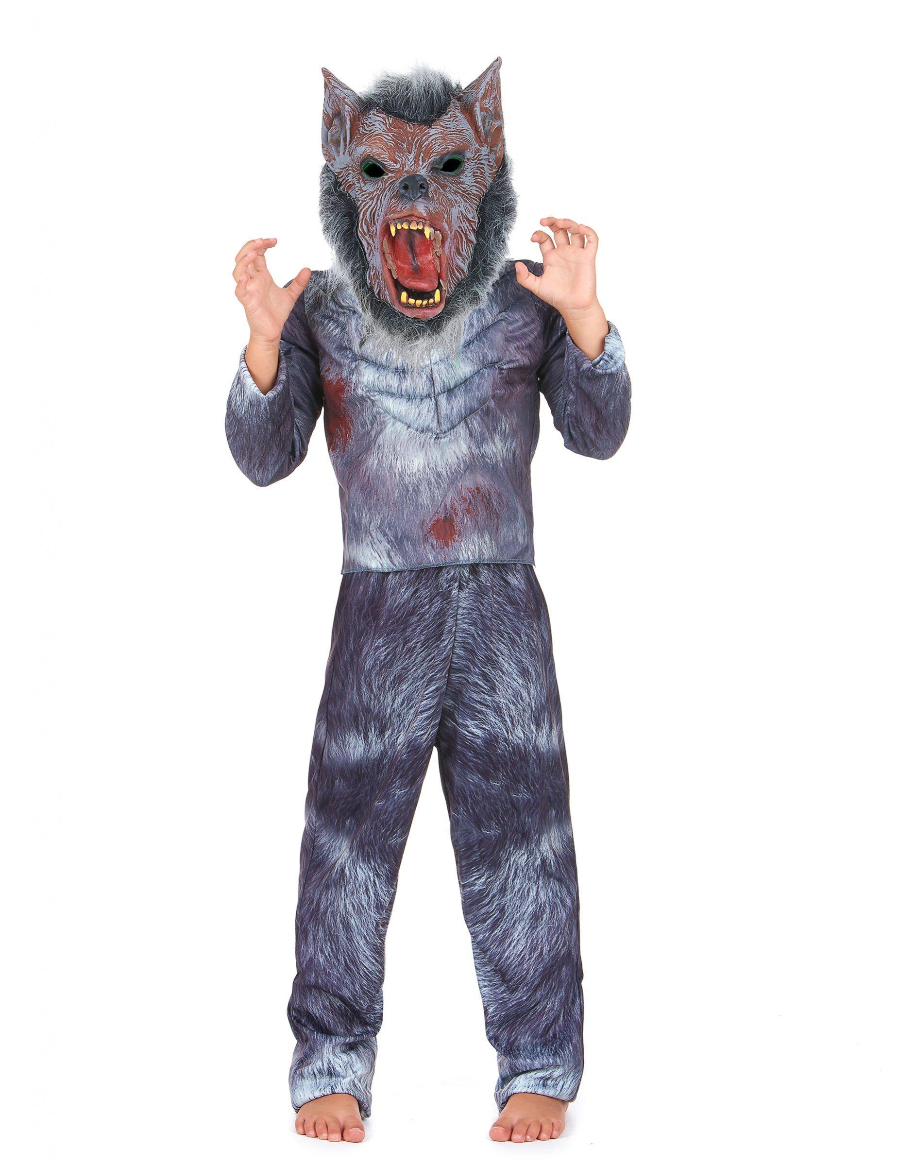 D guisement loup garou enfant deguise toi achat de - Lupo mannaro immagini da colorare ...