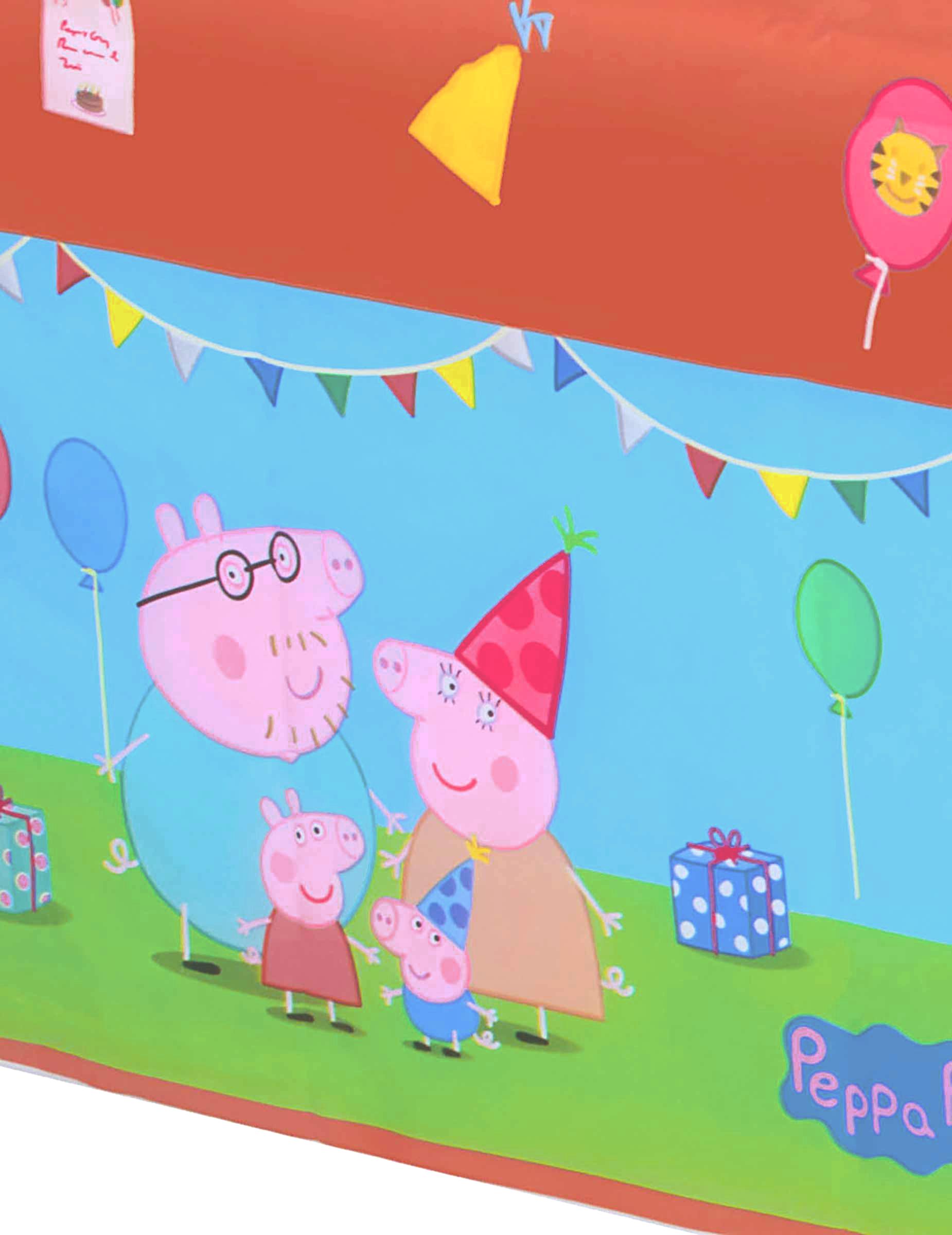 1a8d44dc2004 Nappe en plastique Peppa Pig™   Deguise-toi, achat de Decoration ...