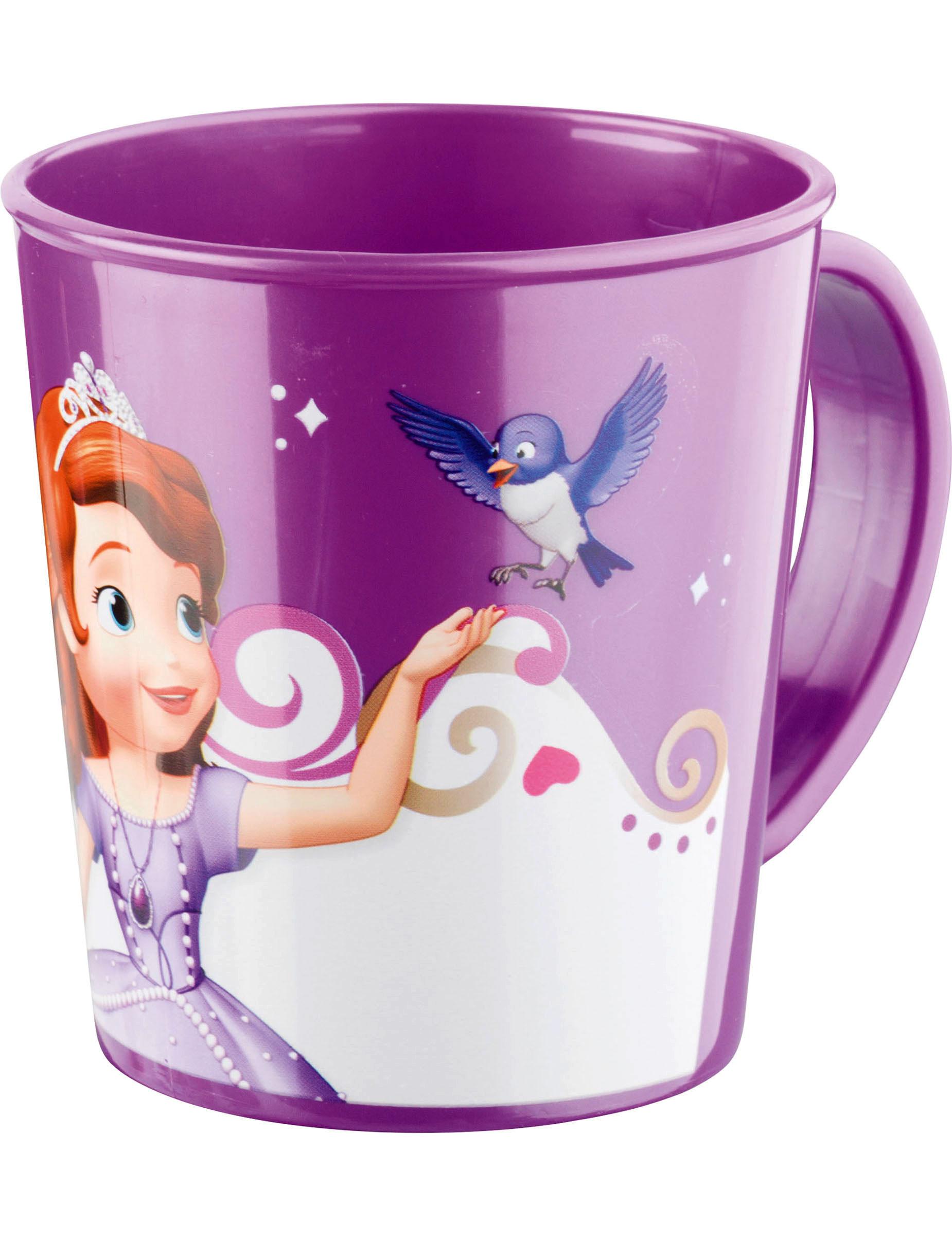 mug en plastique princesse sofia deguise toi achat de decoration animation. Black Bedroom Furniture Sets. Home Design Ideas