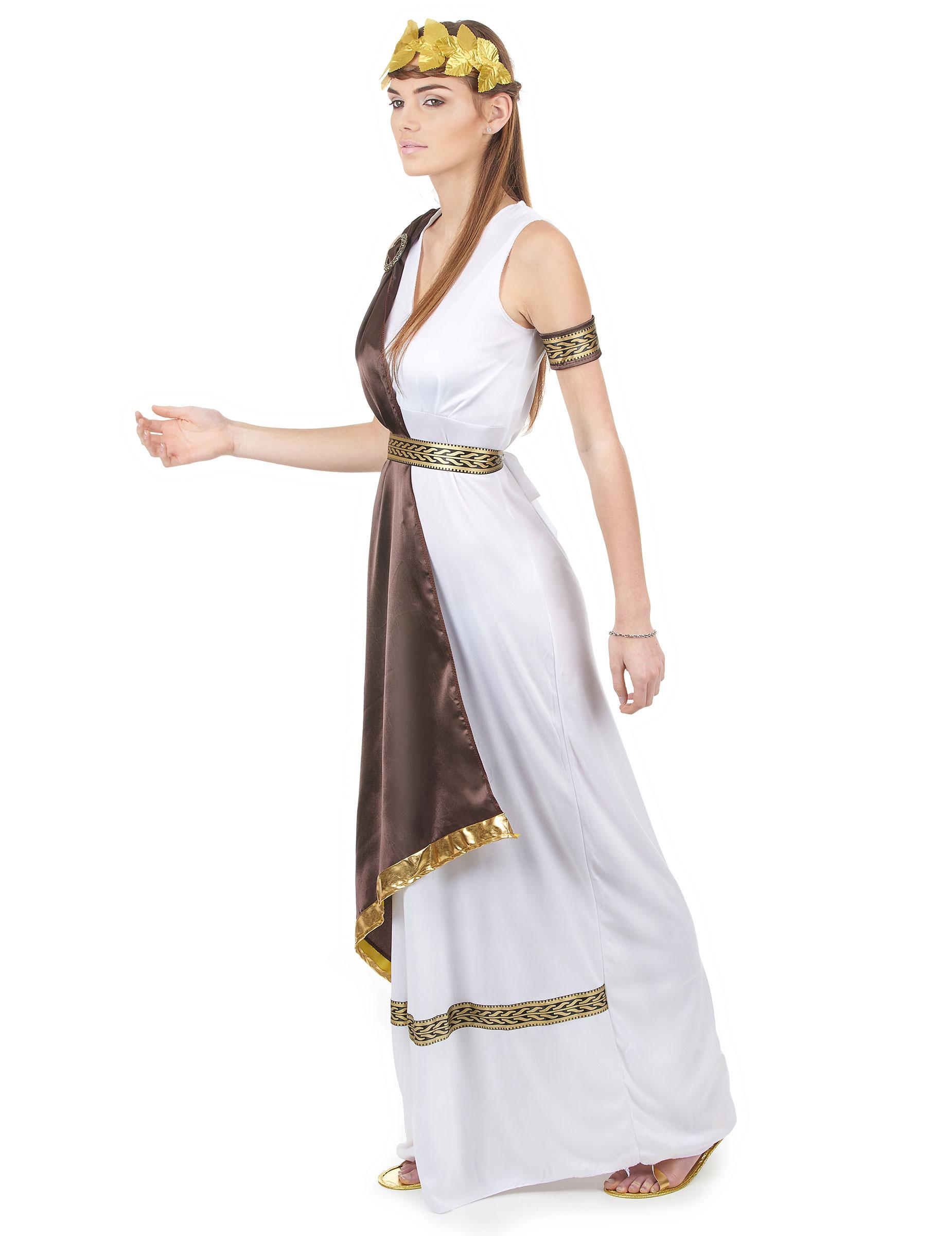 c00a5b1d14750 Déguisement de couple romain marron adulte   Deguise-toi, achat de ...