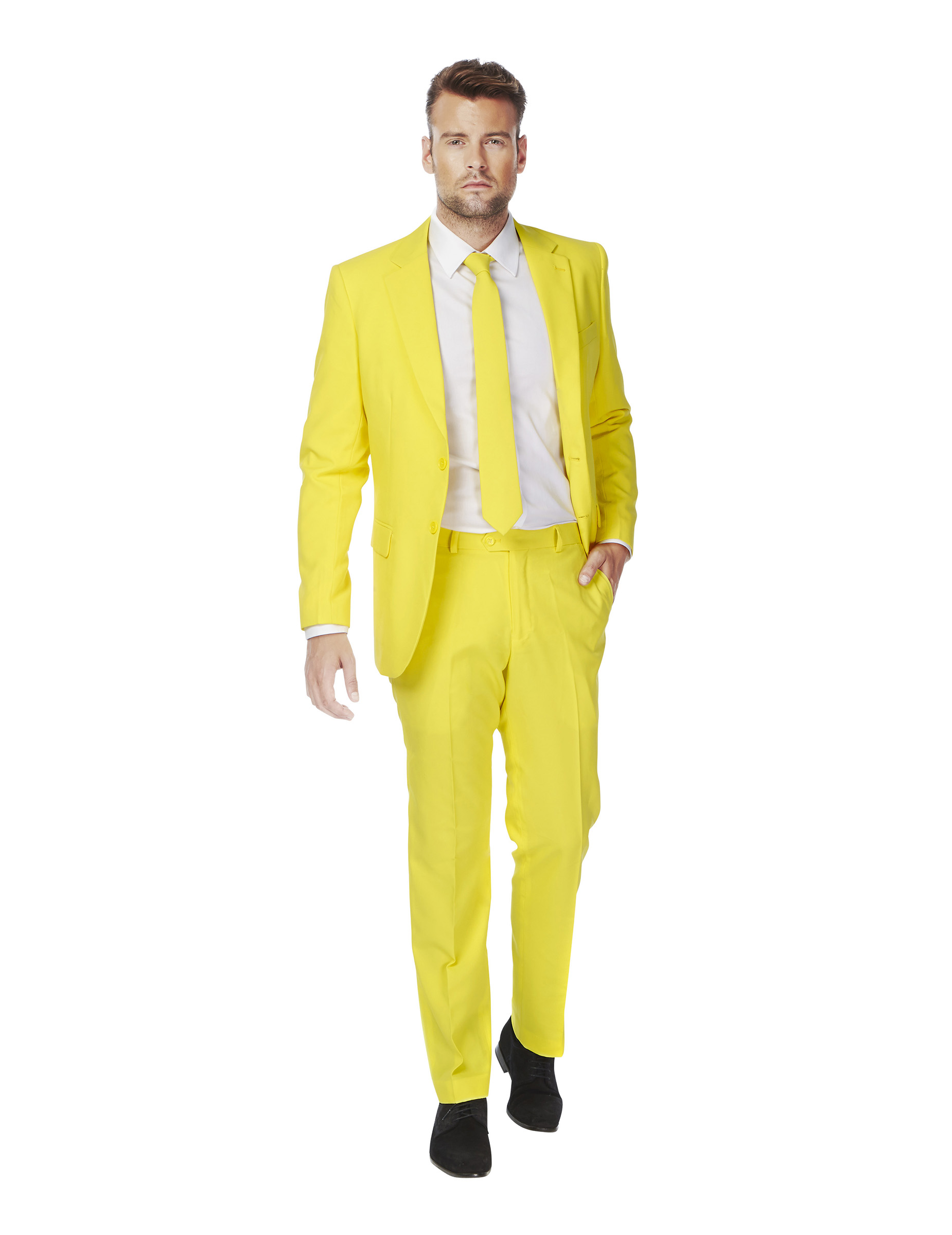costume mr jaune homme opposuits deguise toi achat de d guisements adultes. Black Bedroom Furniture Sets. Home Design Ideas