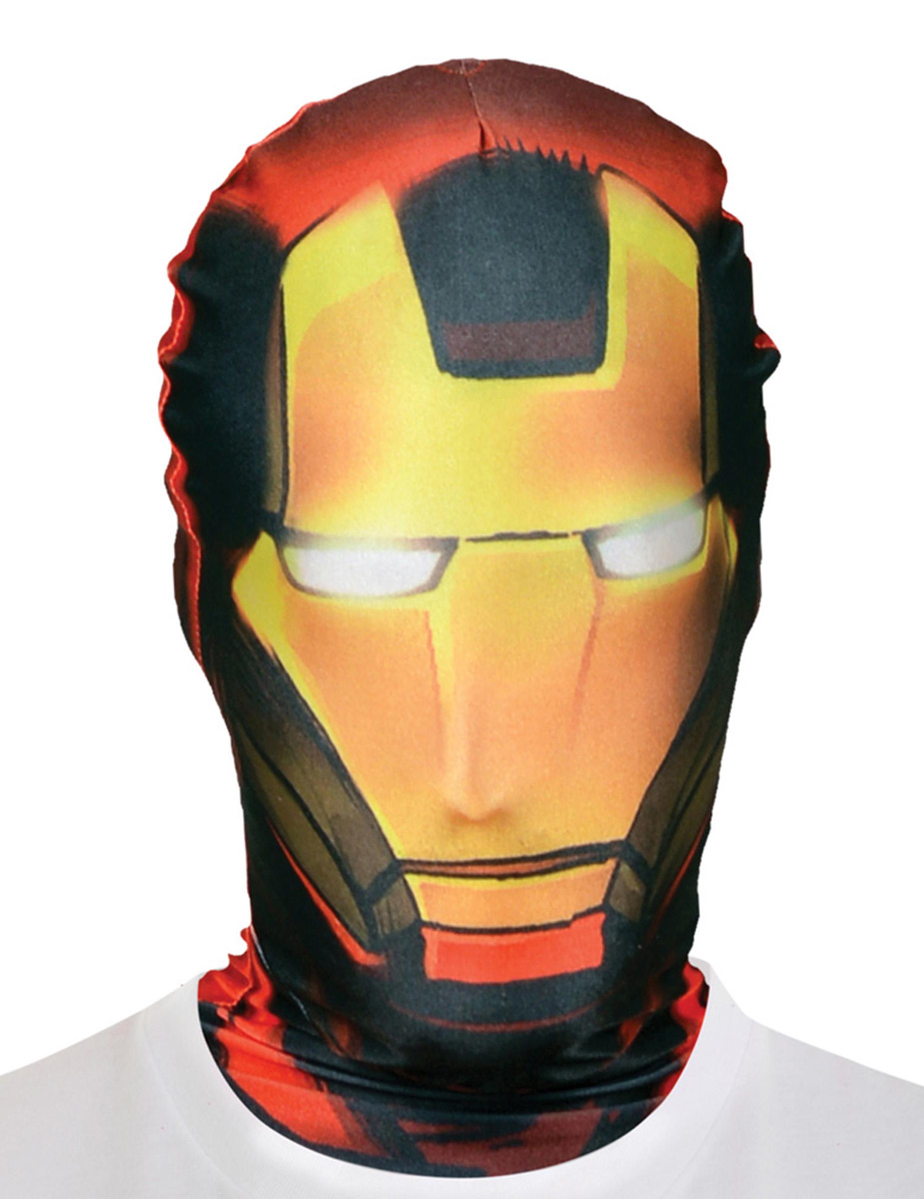 cagoule iron man adulte morphsuits deguise toi achat de masques. Black Bedroom Furniture Sets. Home Design Ideas