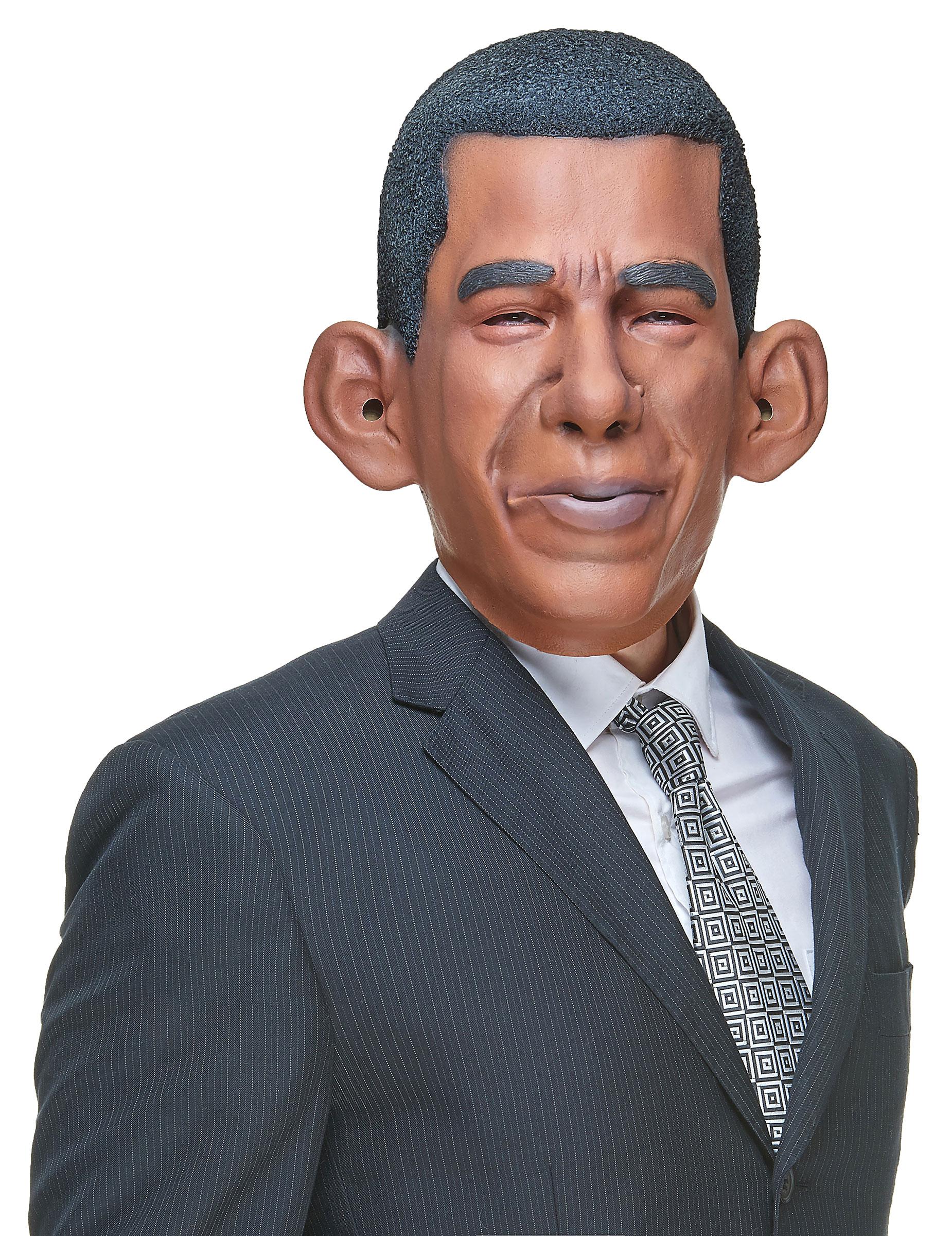 Latex Masque Barack Obama adultes carnaval homme politique