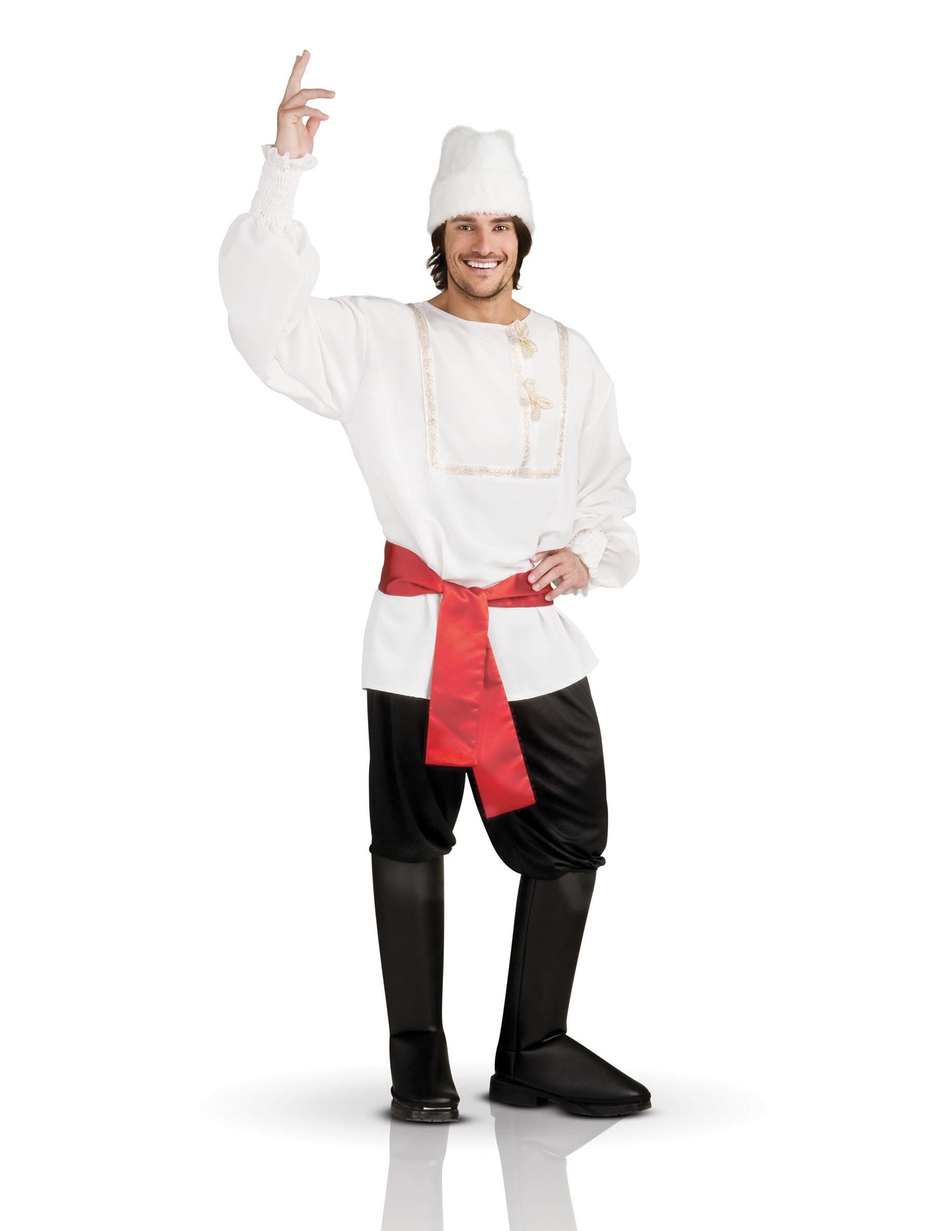 d guisement homme russe blanc deguise toi achat de d guisements adultes. Black Bedroom Furniture Sets. Home Design Ideas