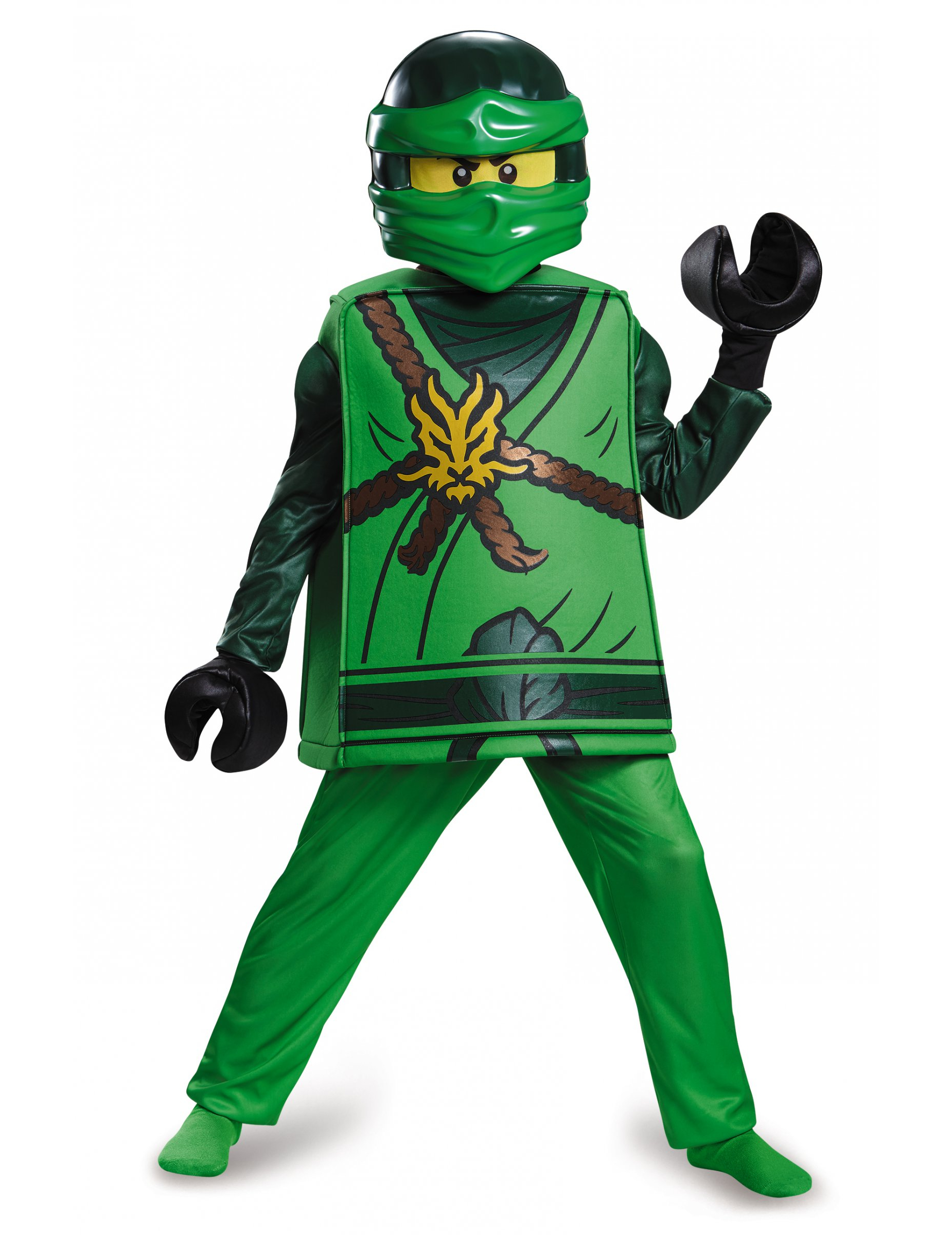 Déguisement deluxe Lloyd Ninjago®, LEGO® enfant