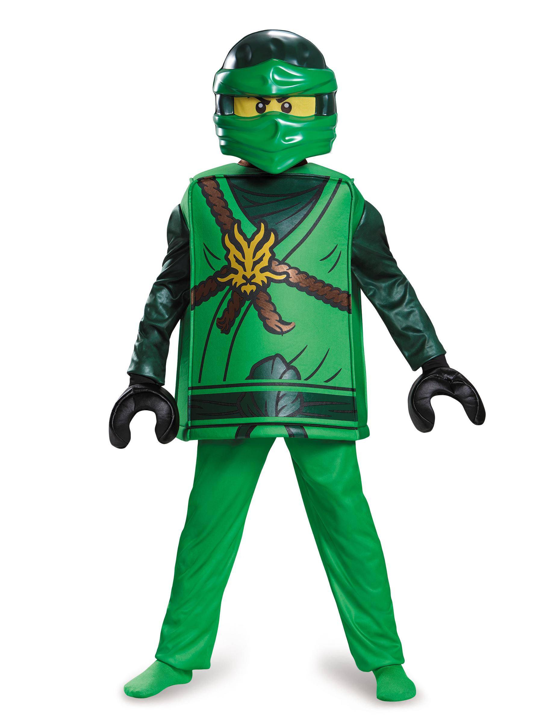 D guisement deluxe lloyd ninjago lego enfant deguise toi achat de d guisements enfants - Deguisement tete de lego ...