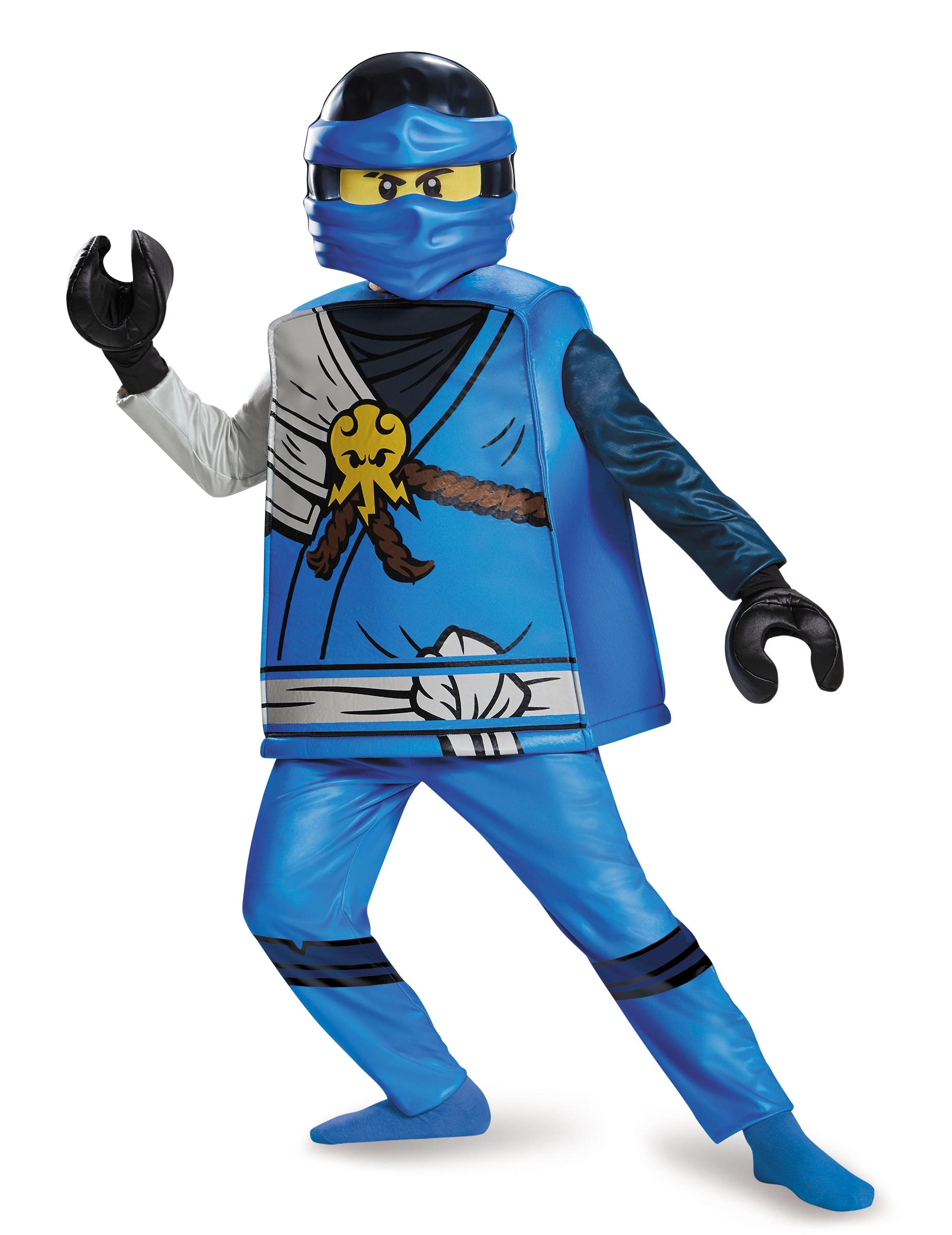 D guisement deluxe jay ninjago lego enfant deguise toi achat de d guisements enfants - Deguisement tete de lego ...