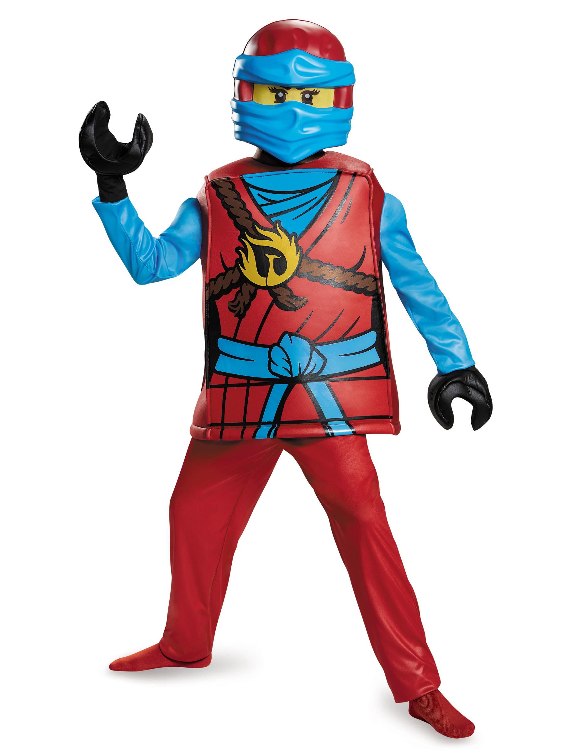 D guisement deluxe nya ninjago lego enfant deguise toi achat de d guisements enfants - Deguisement tete de lego ...