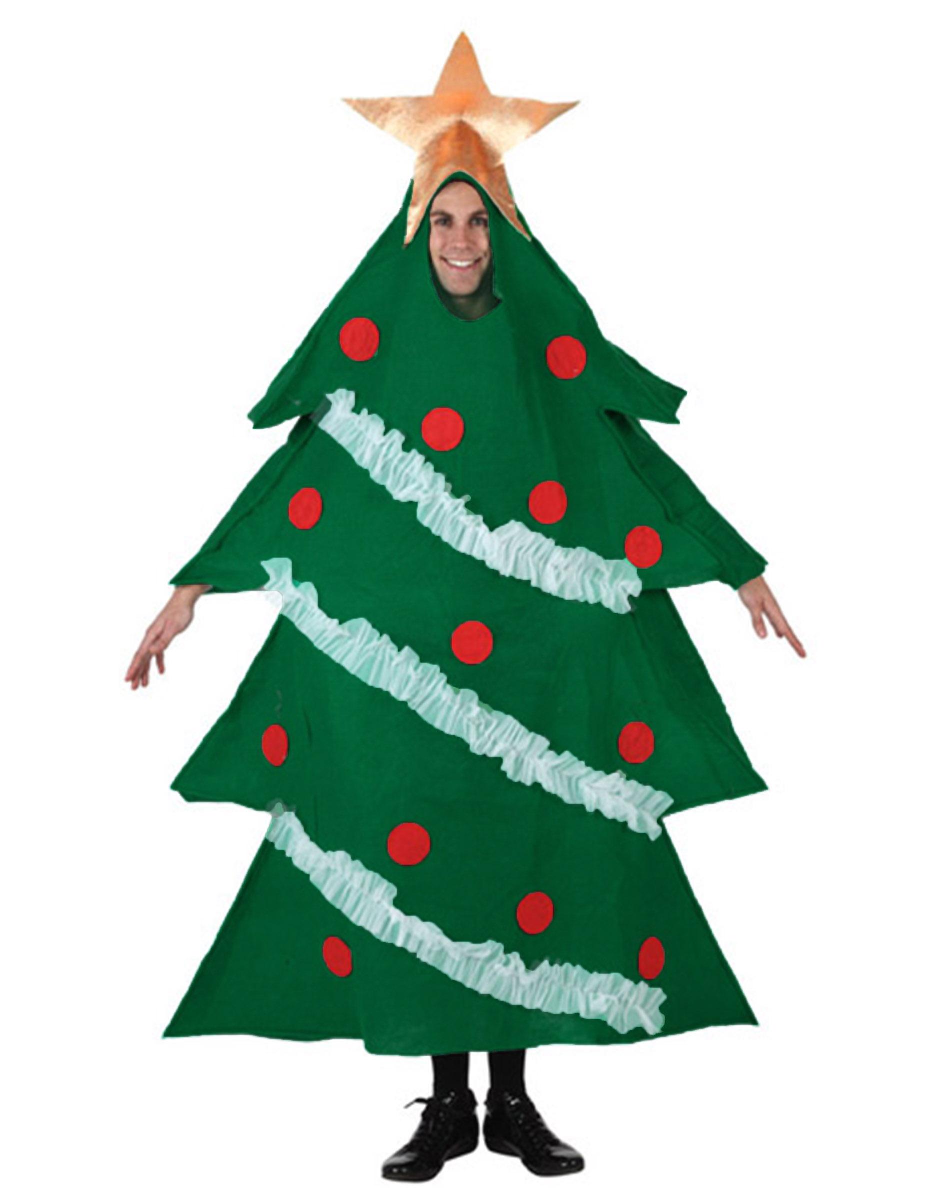 Deguisement Sapin De Noel Déguisement sapin décoré adulte Noël : Deguise toi, achat de