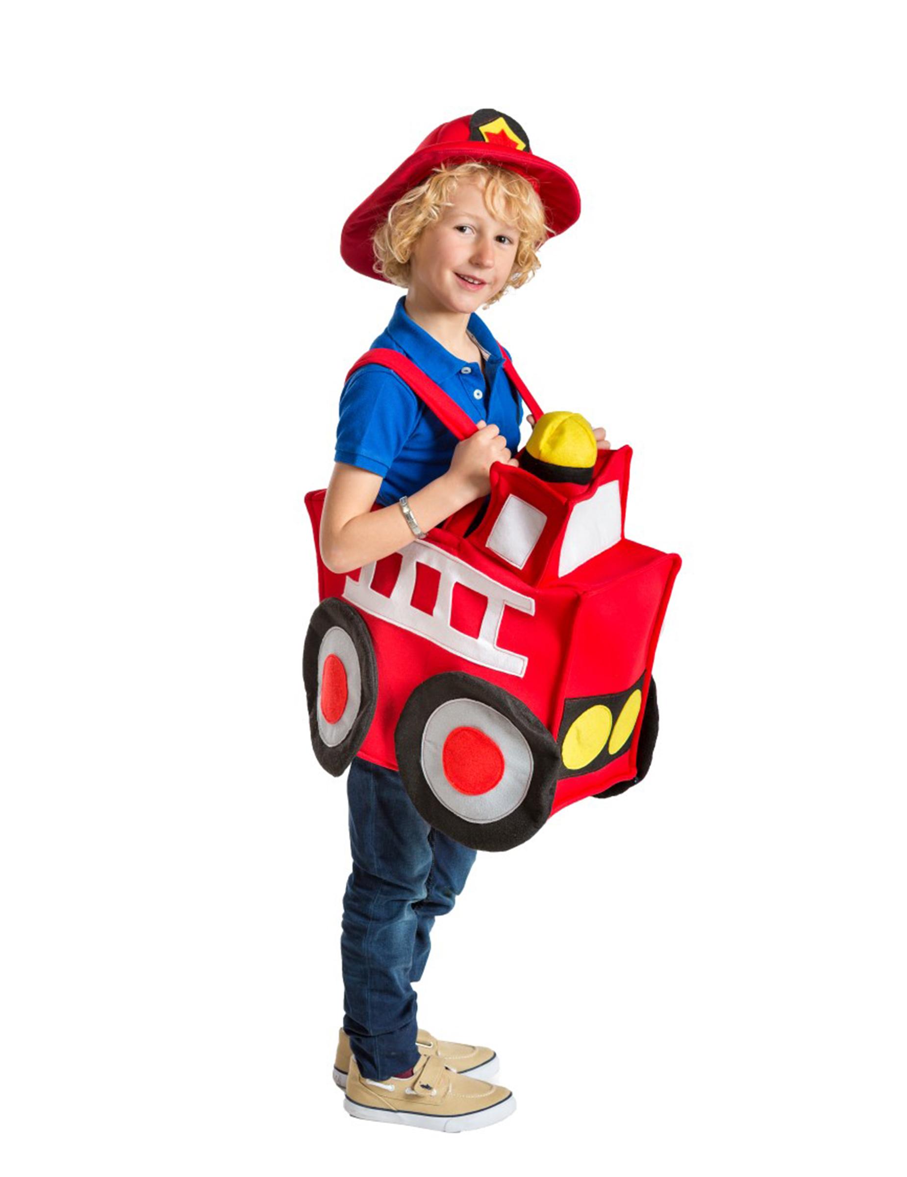 D guisement camion de pompier enfant premium achat de d guisements enfants - Camion de pompier enfant ...