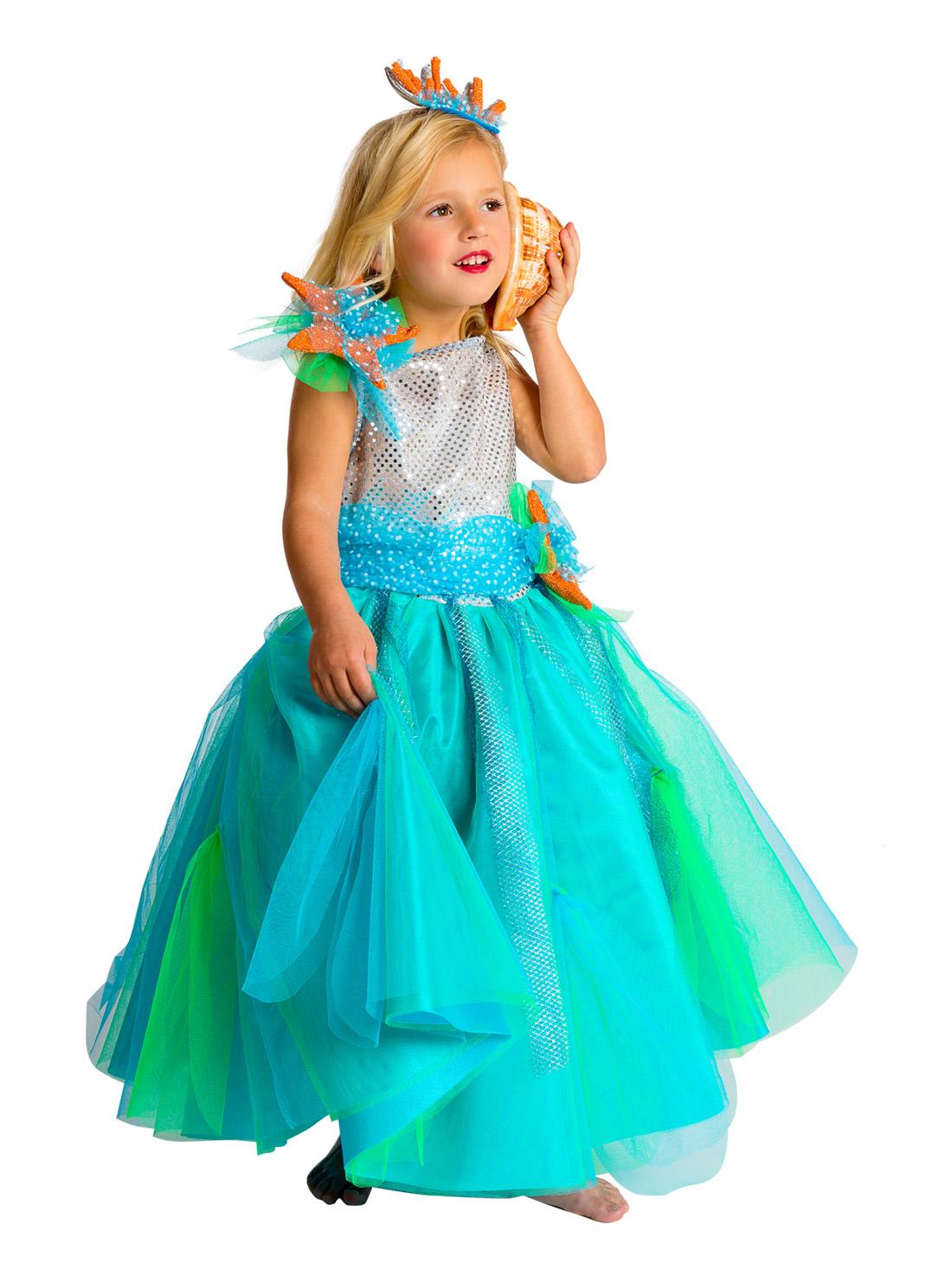 d guisement princesse de la mer fille premium deguise toi achat de d guisements enfants. Black Bedroom Furniture Sets. Home Design Ideas