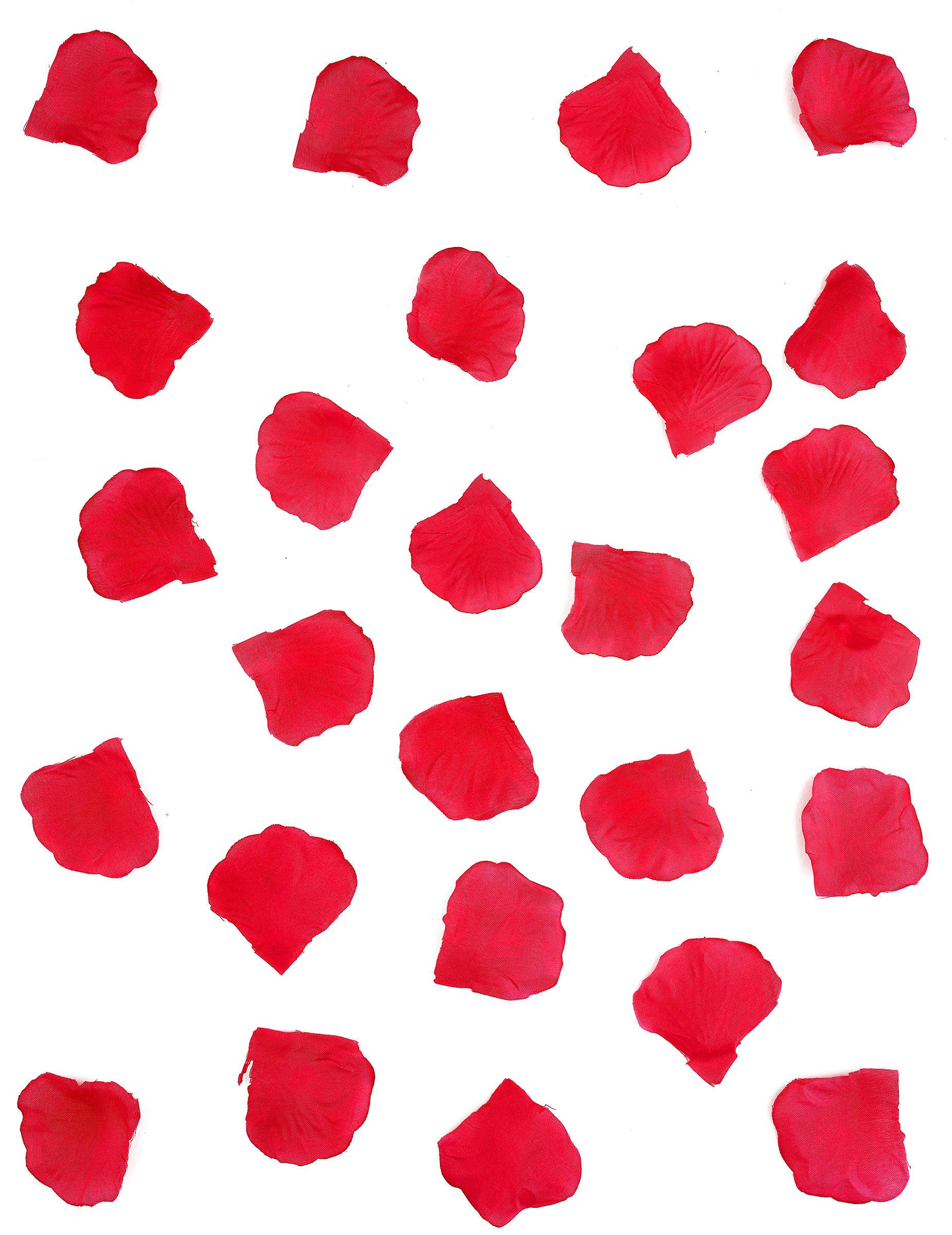 150 Petales De Rose En Tissu Rouge Deguise Toi Achat De