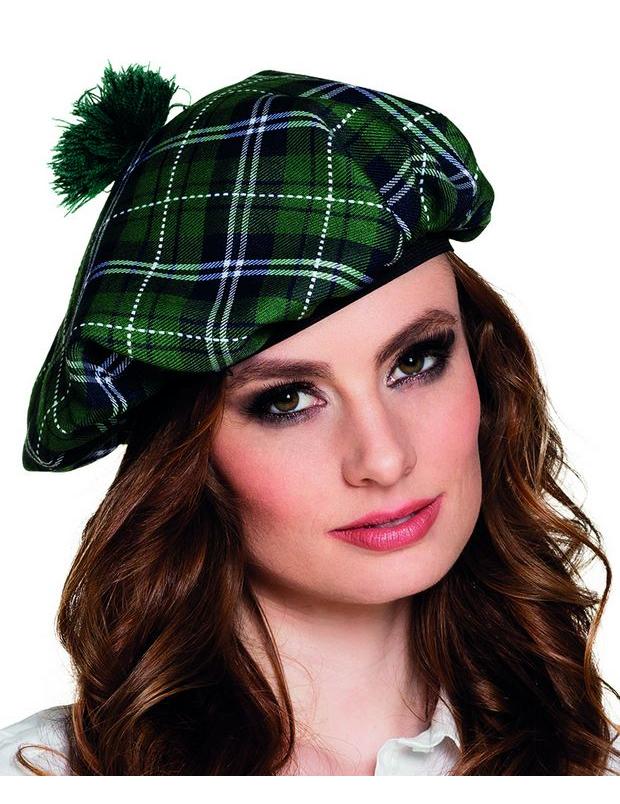 Béret écossais vert adulte   Deguise-toi, achat de Chapeaux b7797ee42e8