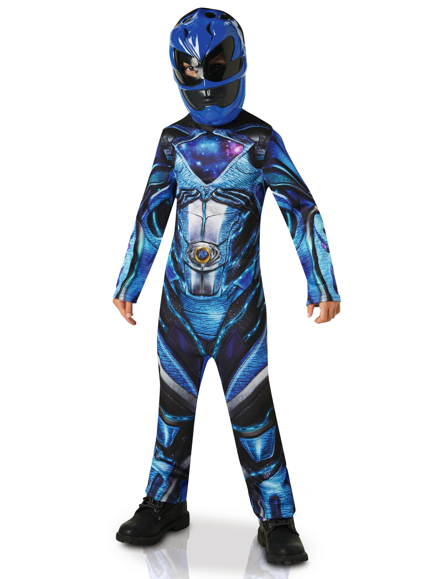 D guisement classique power rangers bleu enfant deguise - Masque de power rangers ...