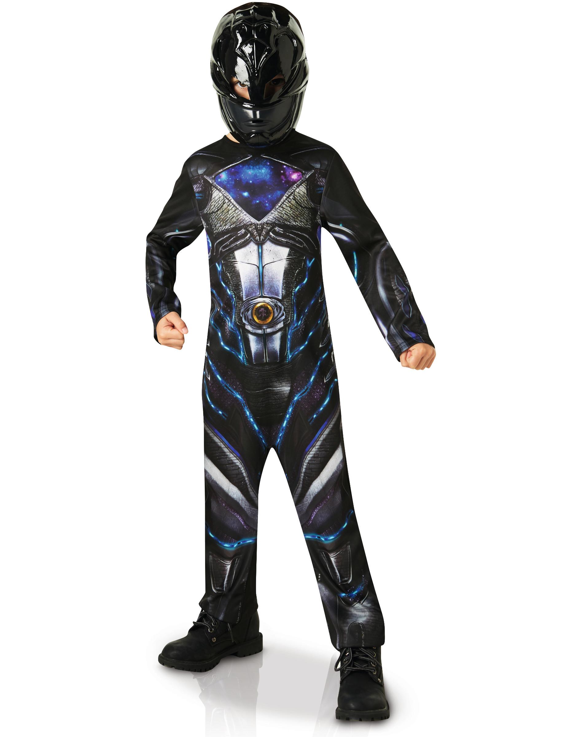 D guisement classique power rangers noir enfant deguise - Masque de power rangers ...