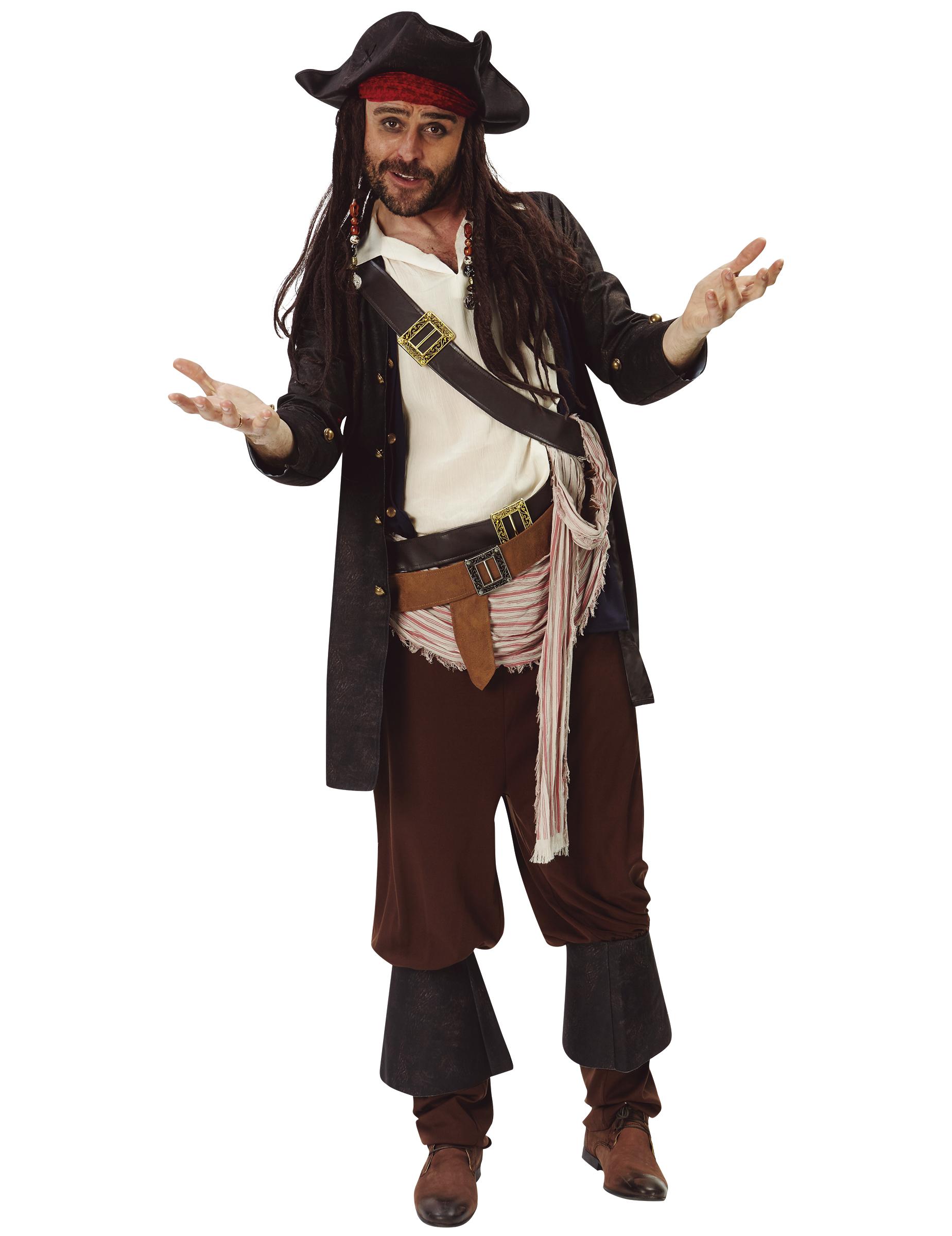 Déguisement Jack Sparrow™ Pirate des Caraibes™ adulte   Deguise-toi ... 4ea75a71288