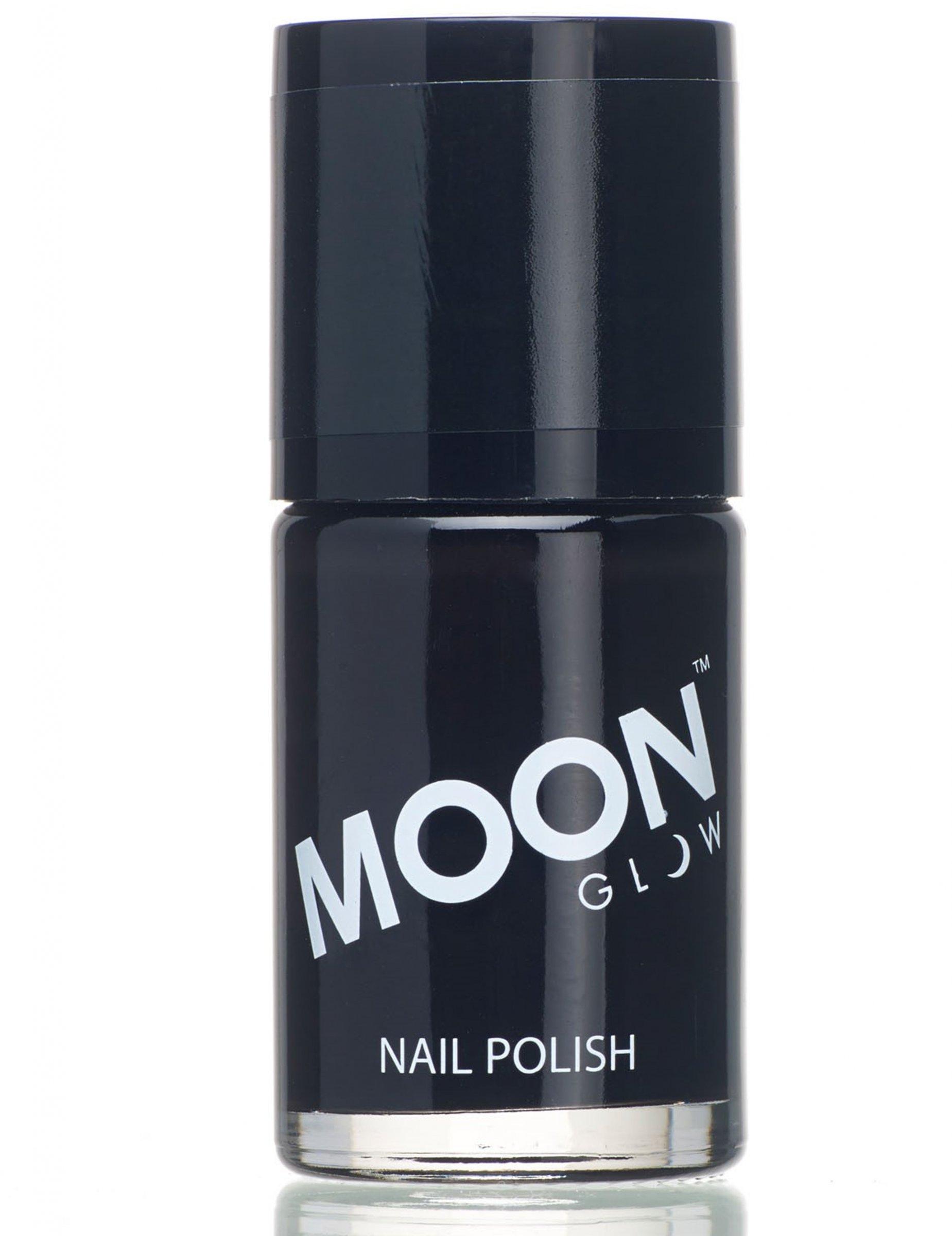 Vernis ongles noir uv 15 ml moonglow deguise toi achat de maquillage - Vernis a ongle noir ...