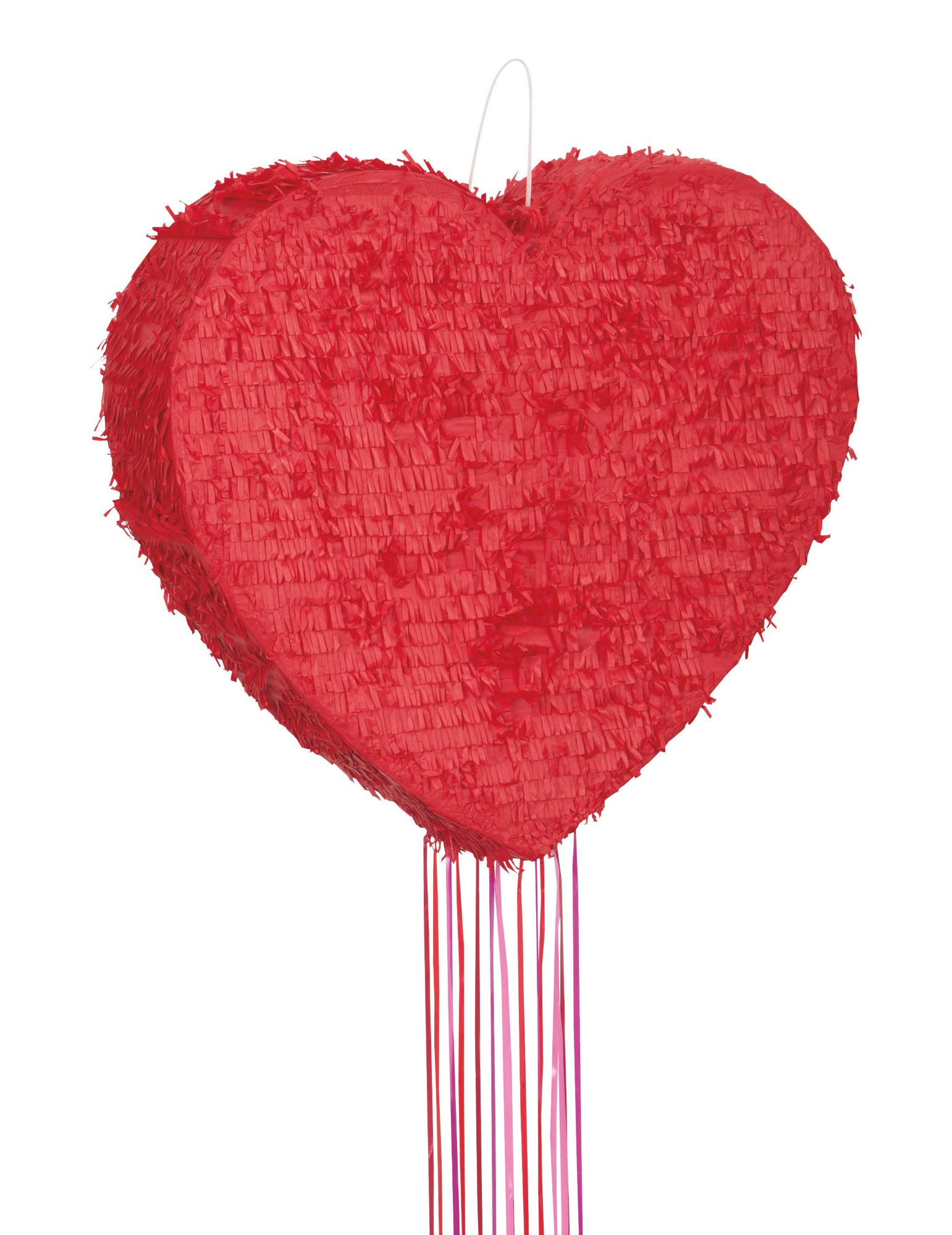 Pinata c ur rouge 56 cm deguise toi achat de decoration - Decoration coeur rouge ...