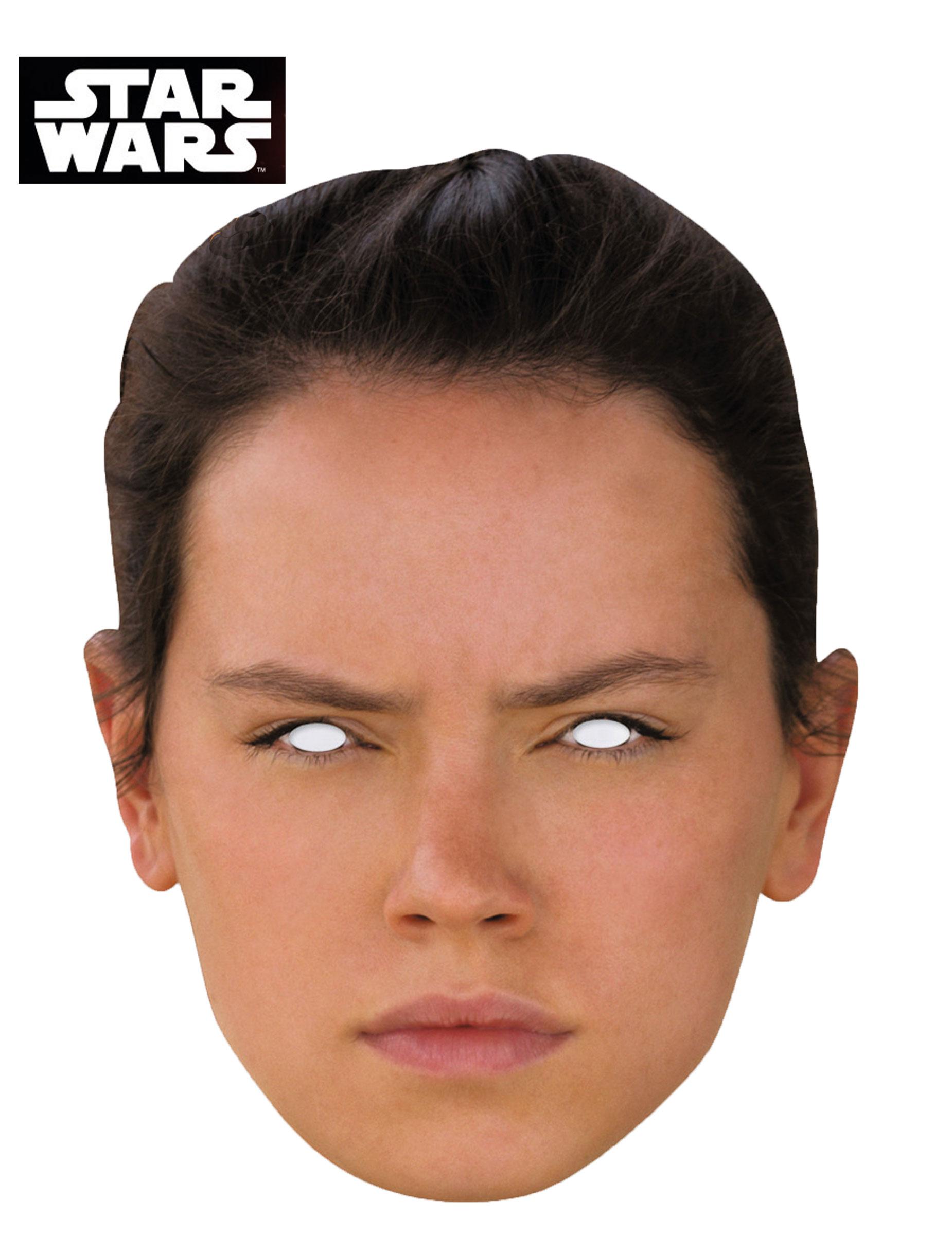 Masque carton Rey , Star Wars VII™