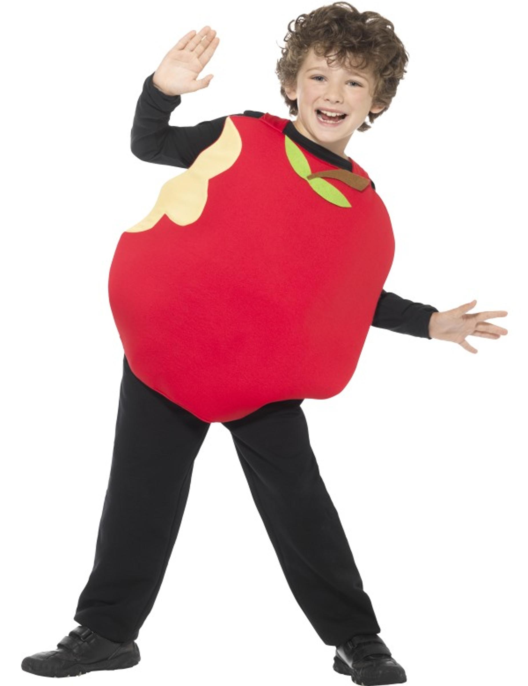 d guisement pomme rouge enfant deguise toi achat de d guisements enfants. Black Bedroom Furniture Sets. Home Design Ideas